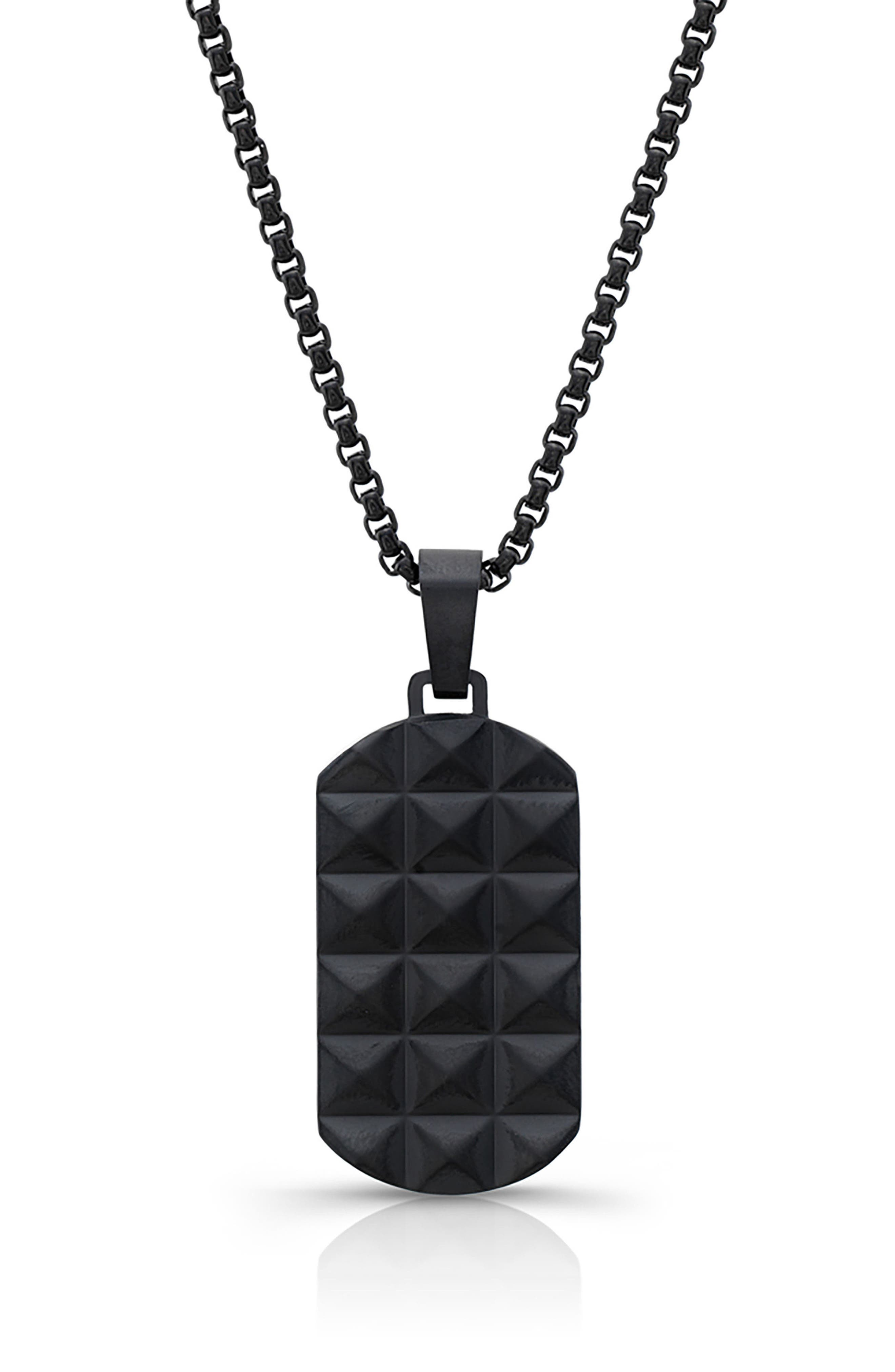 Alternate Image 1 Selected - Room101 Punk Dog Tag Necklace