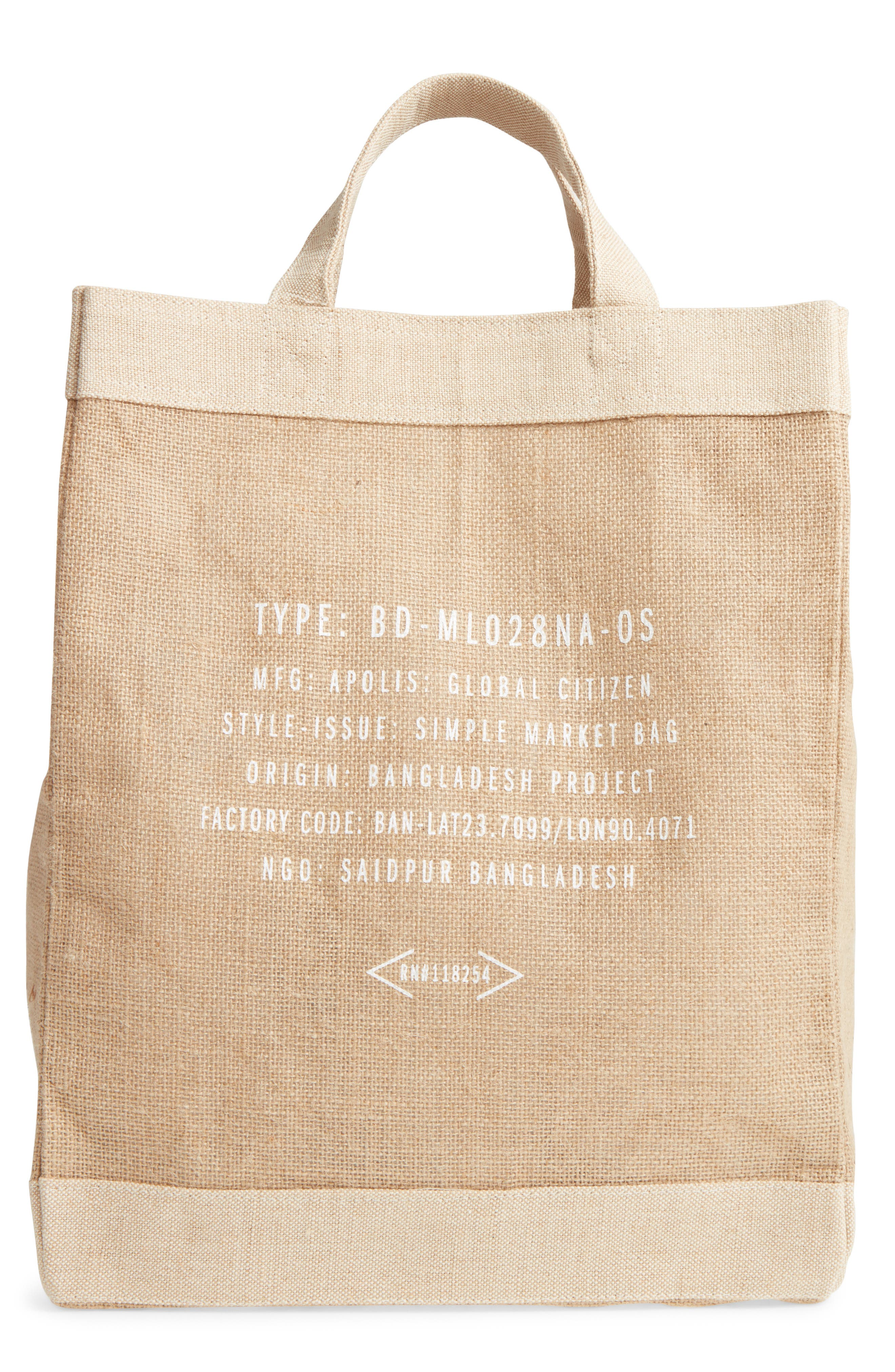 Alternate Image 2  - Apolis San Diego Simple Market Bag