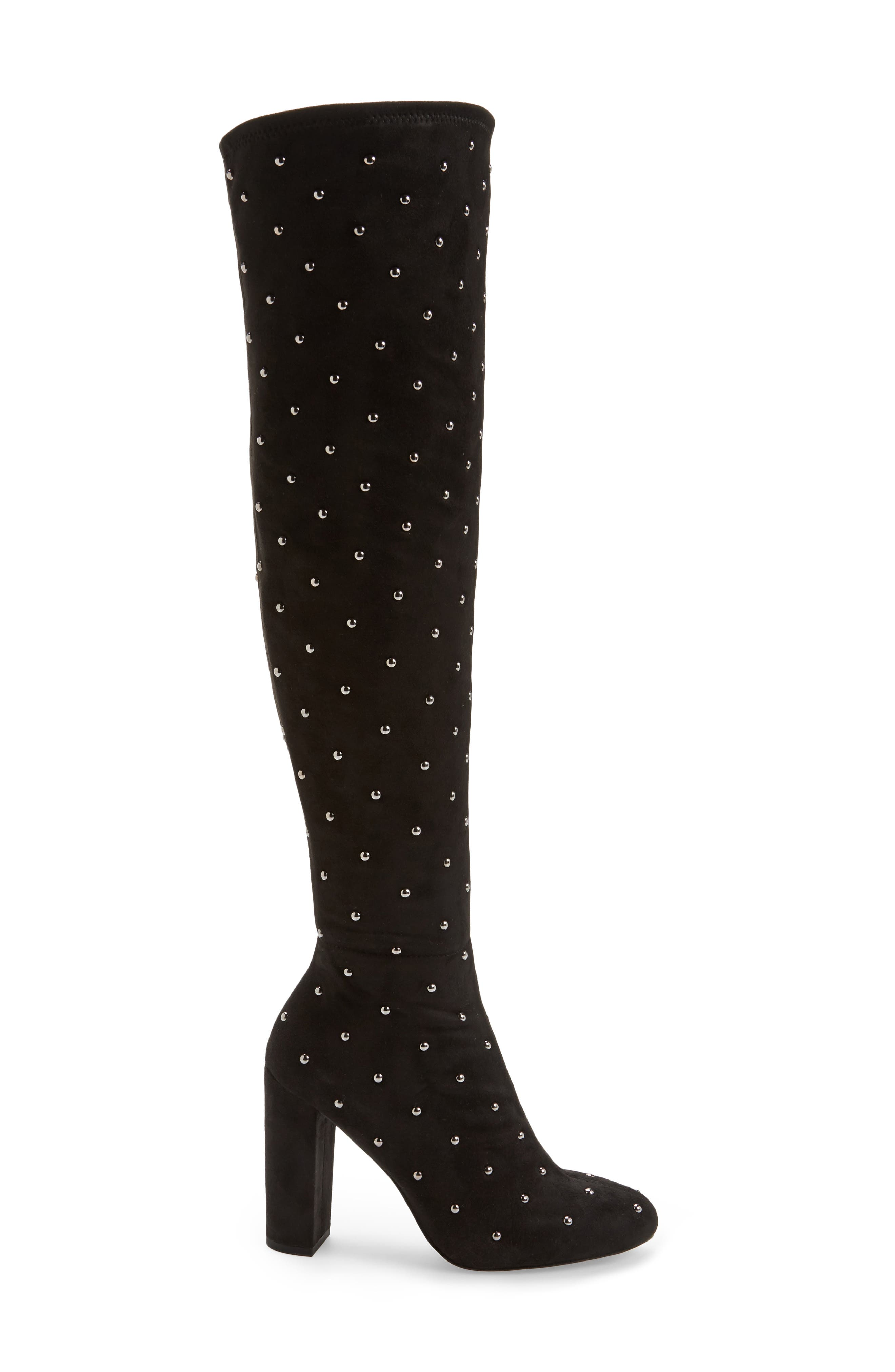 Alternate Image 3  - Jessica Simpson Bressy Studded Over the Knee Boot (Women)