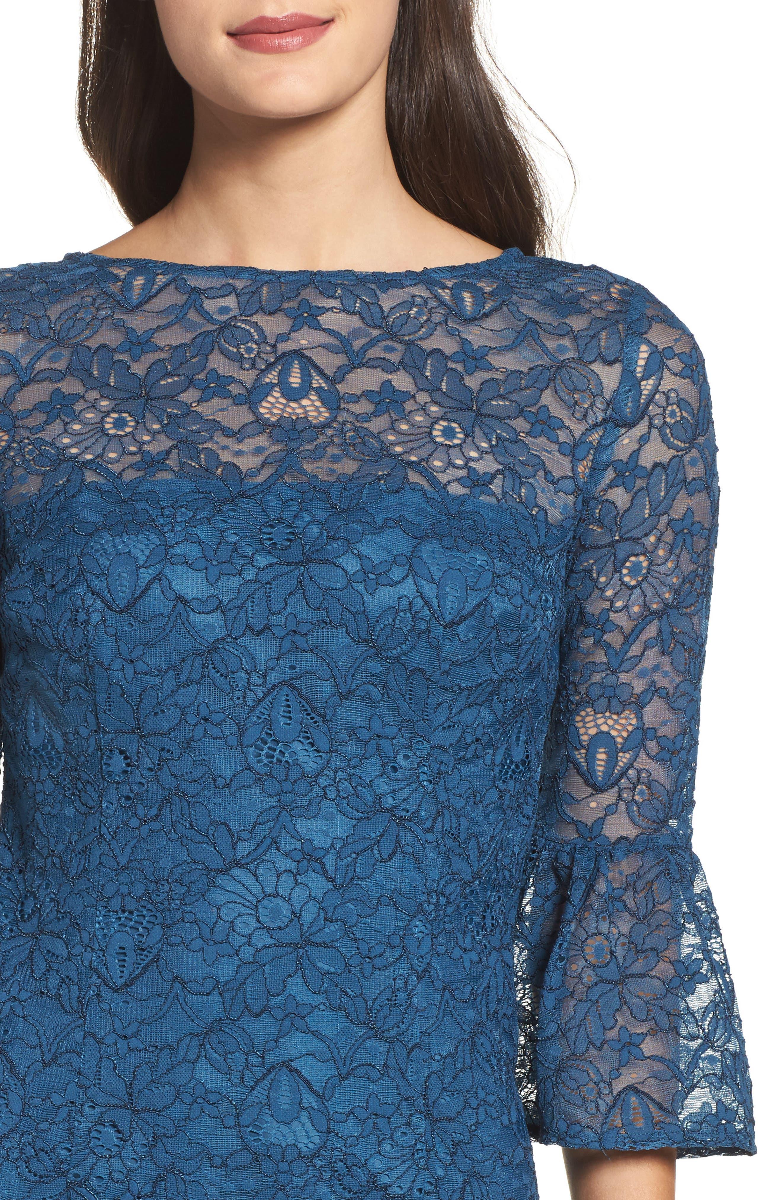 Alternate Image 4  - BB Dakota Billie Bell Sleeve Lace Dress