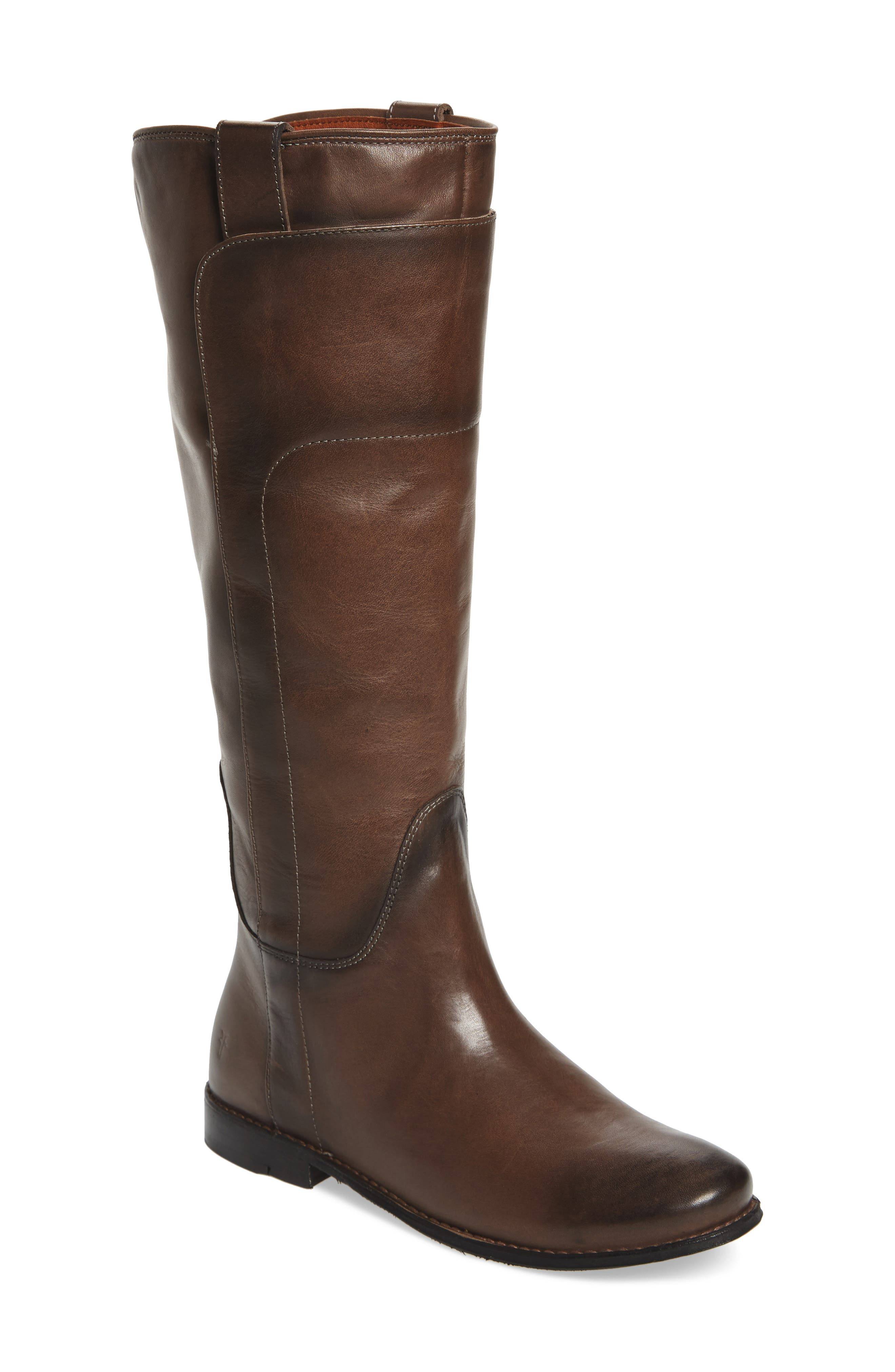 Paige Tall Riding Boot,                         Main,                         color, Smoke