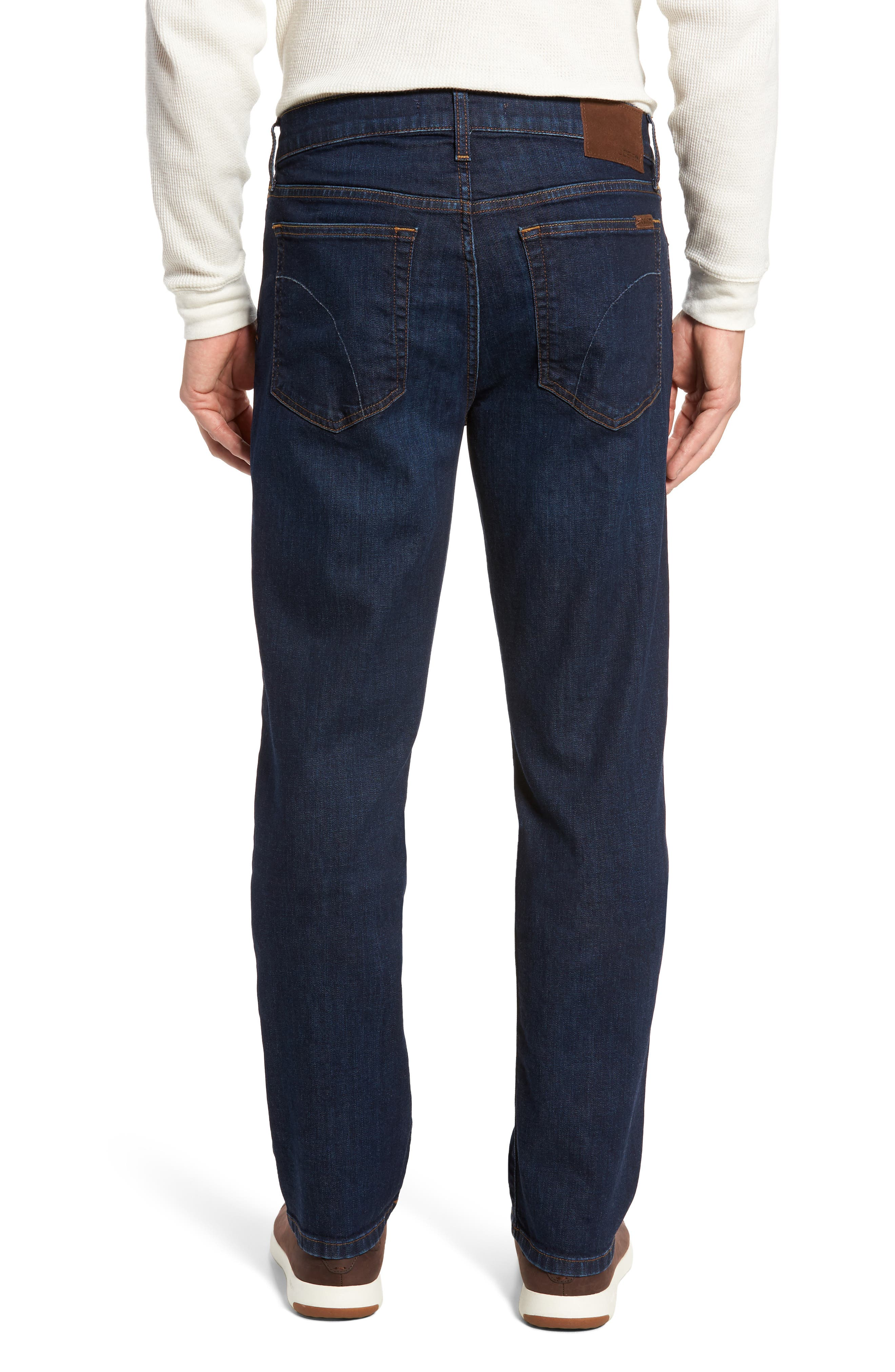 Classic Straight Fit Jeans,                             Alternate thumbnail 2, color,                             Harding