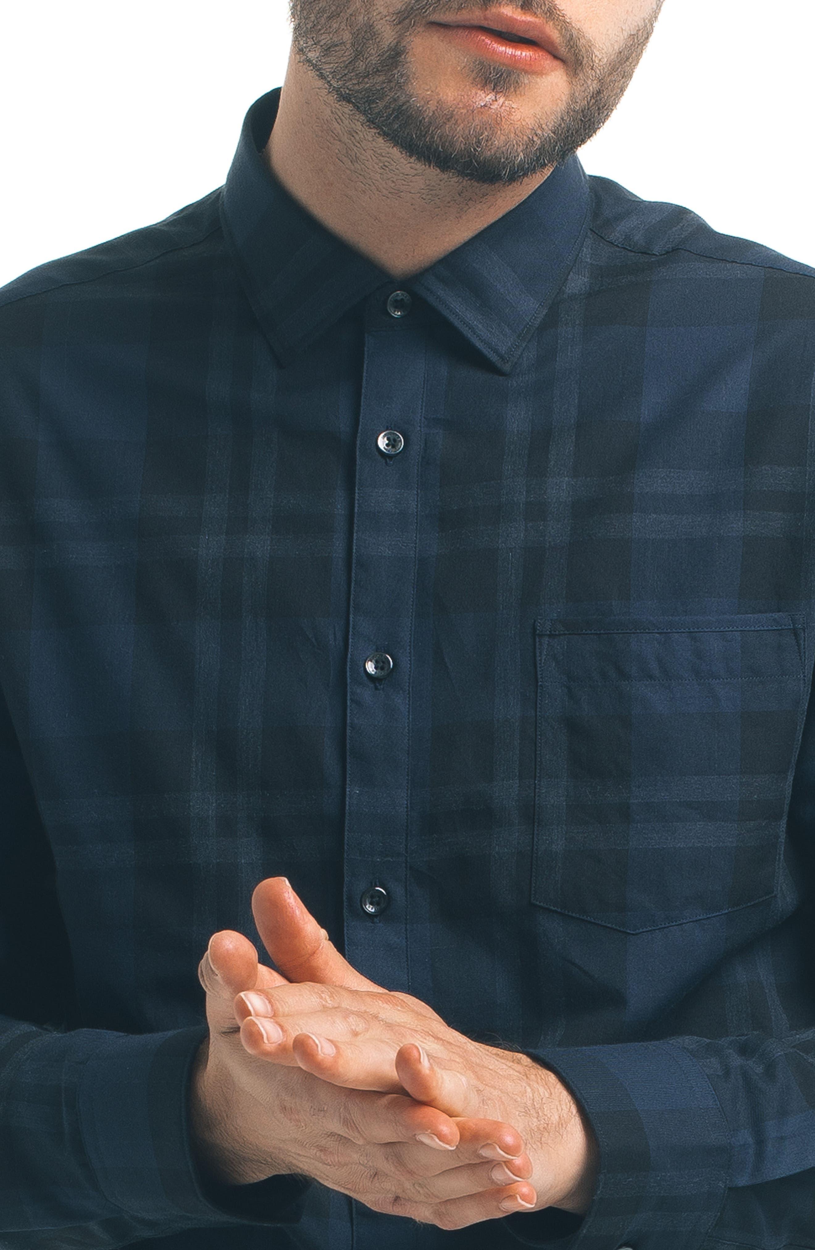Alternate Image 4  - Good Man Brand Check Sport Shirt