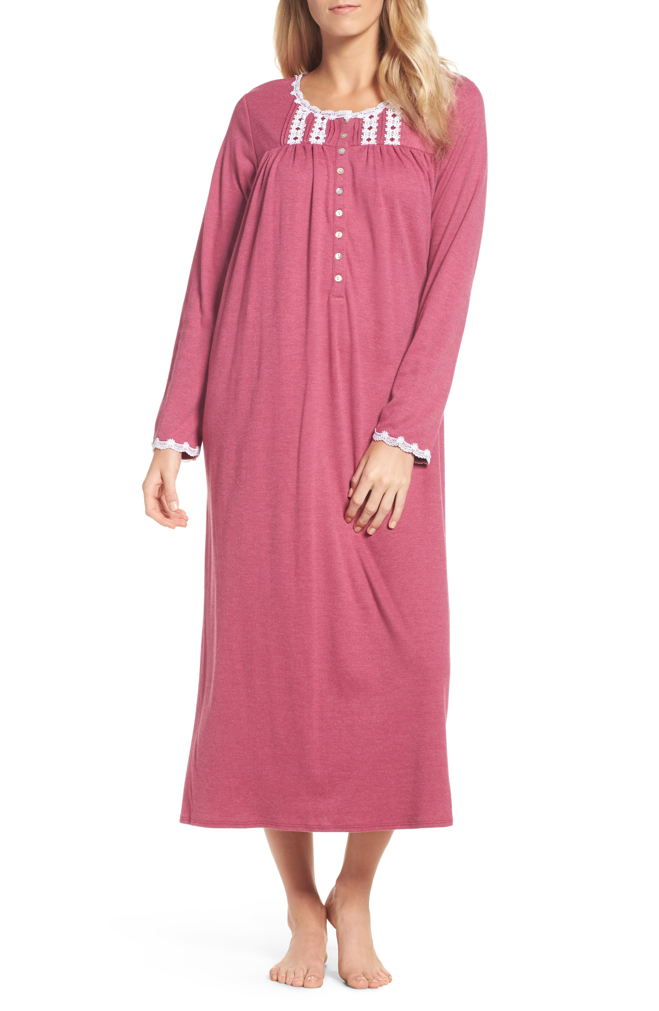 Main Image - Eileen West Jersey Nightgown