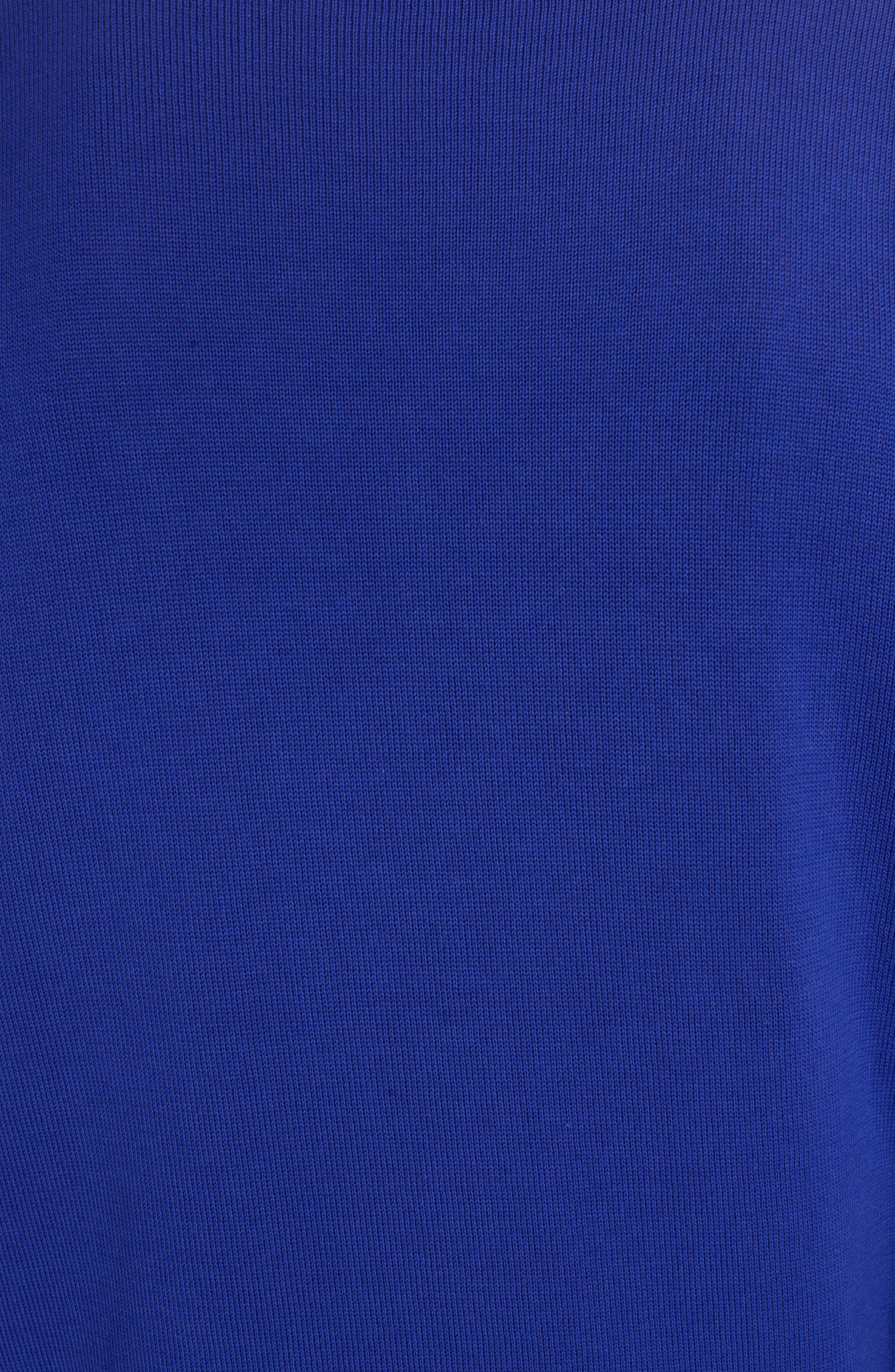 Logo Stripe Sweater,                             Alternate thumbnail 5, color,                             French Blue