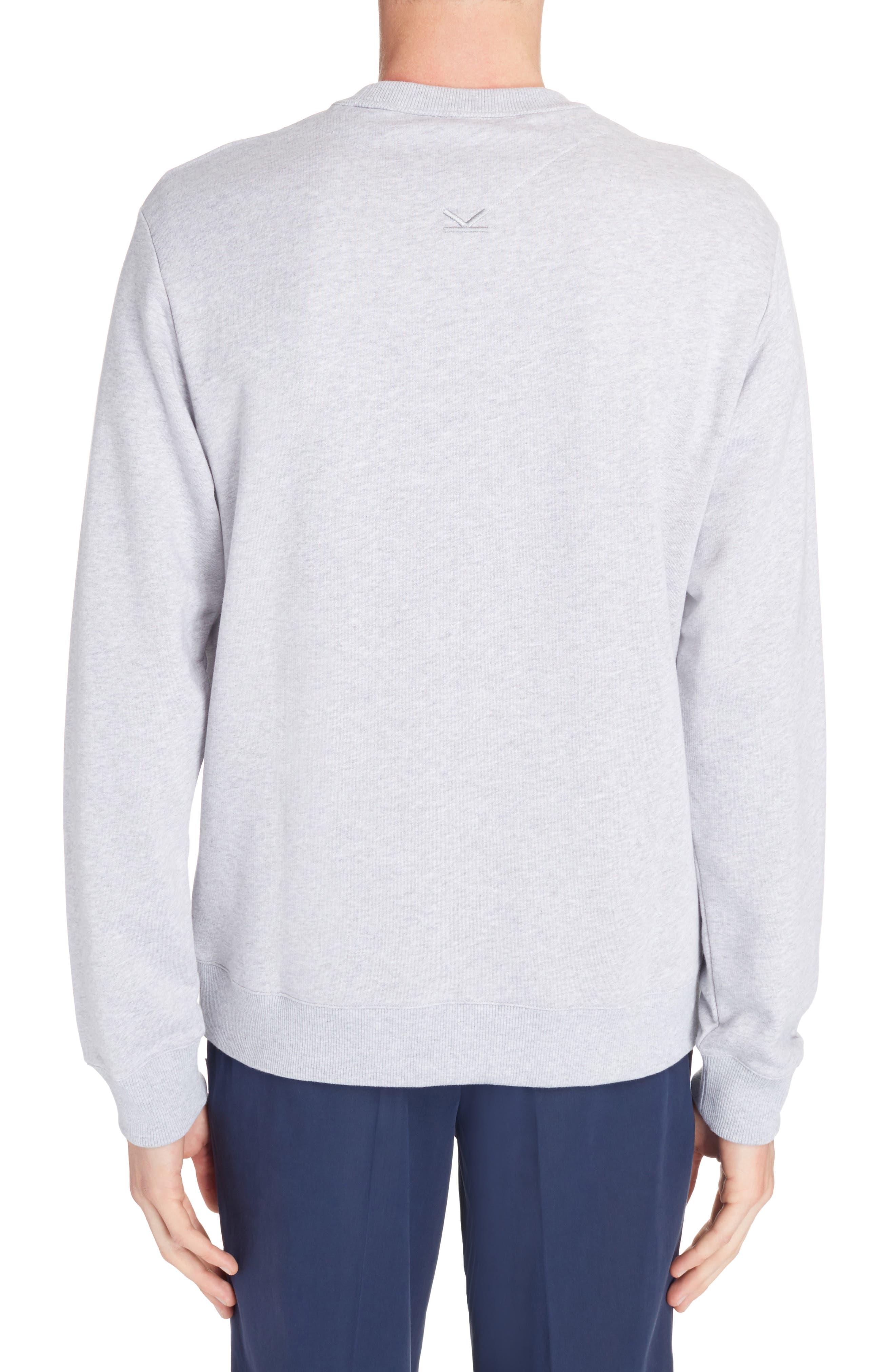 Alternate Image 2  - KENZO Stripe Logo Graphic Sweatshirt
