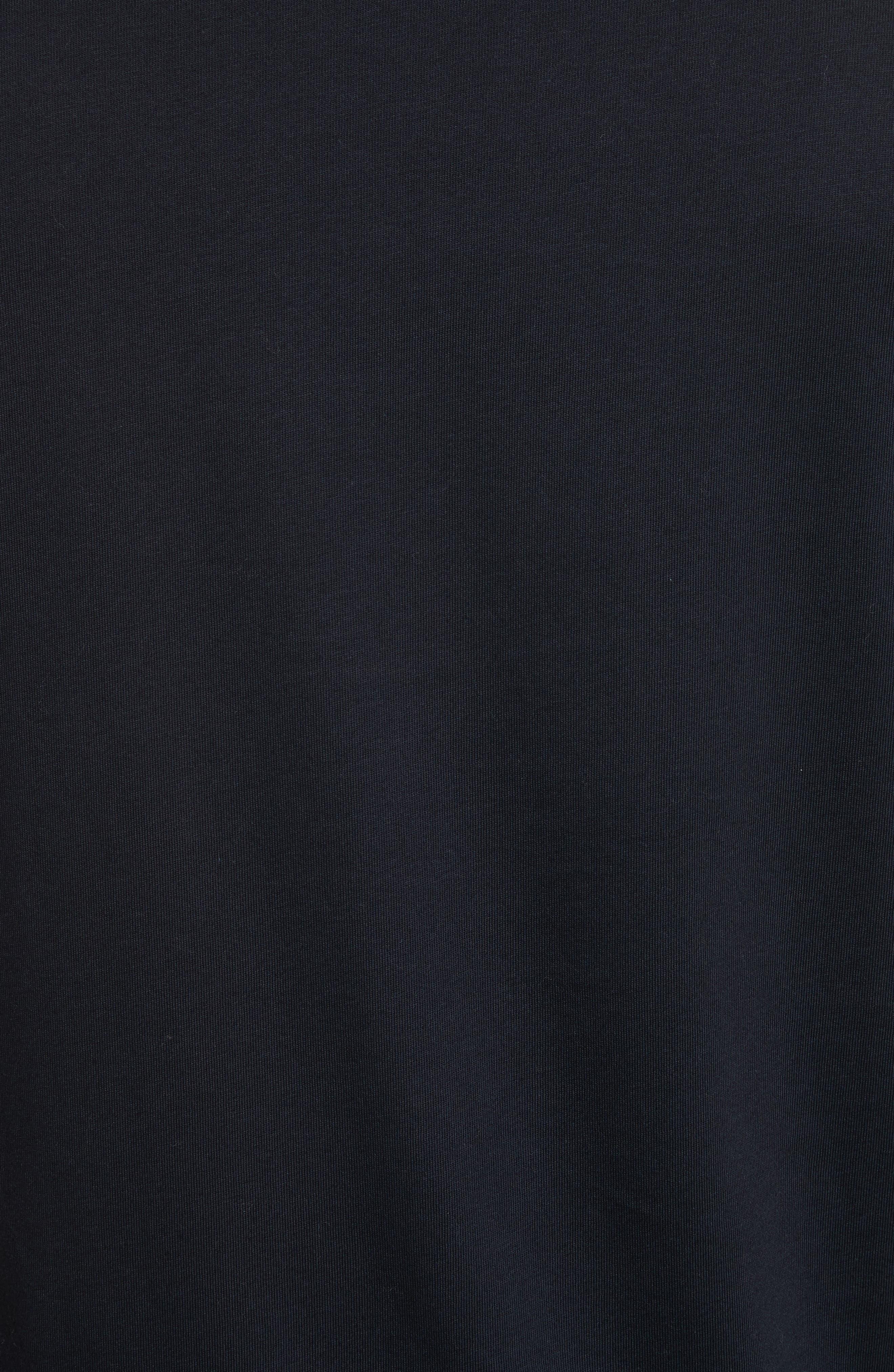 Mini Skulls Graphic T-Shirt,                             Alternate thumbnail 5, color,                             Blue