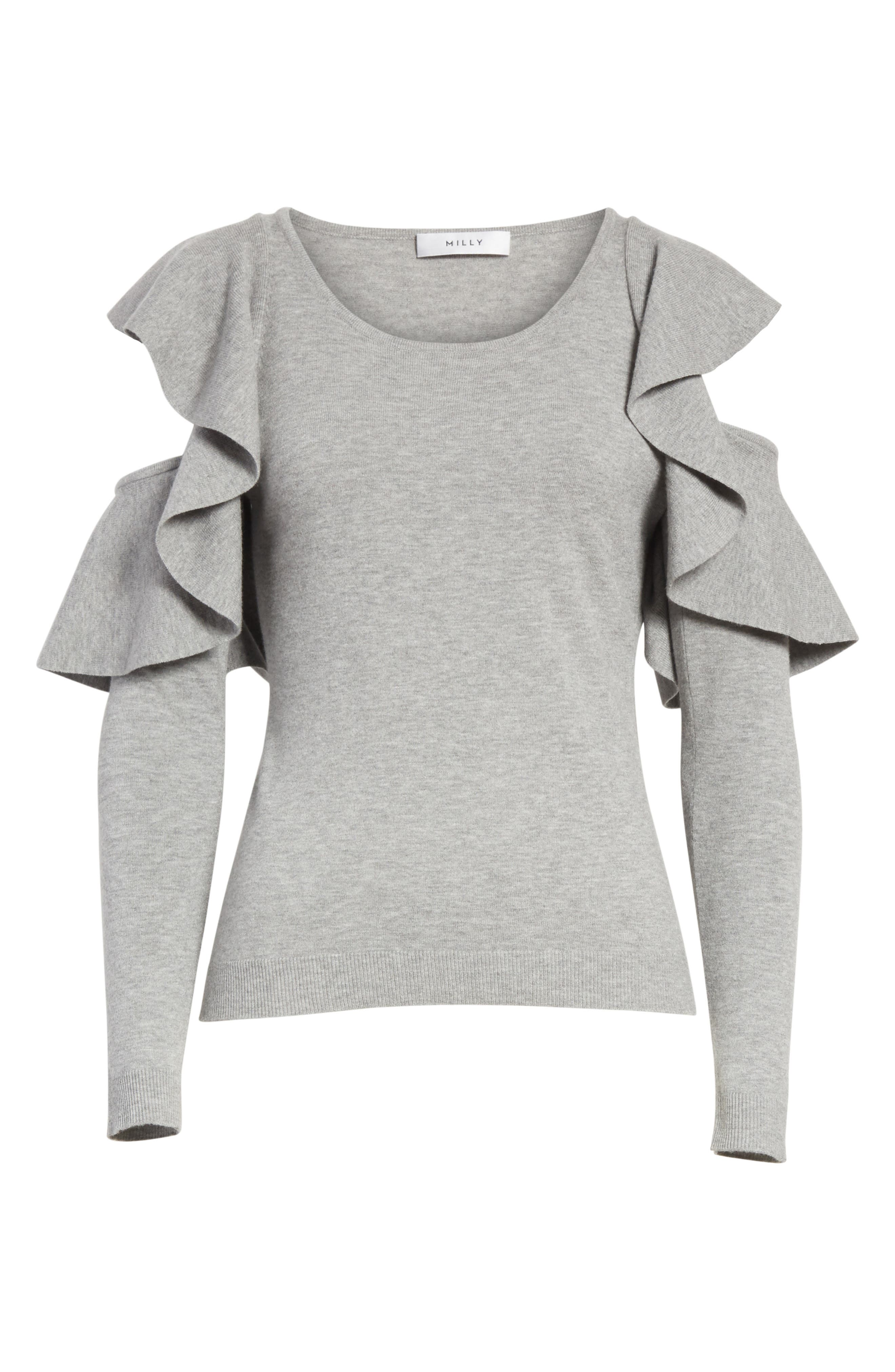 Alternate Image 6  - Milly Cutout Sleeve Top