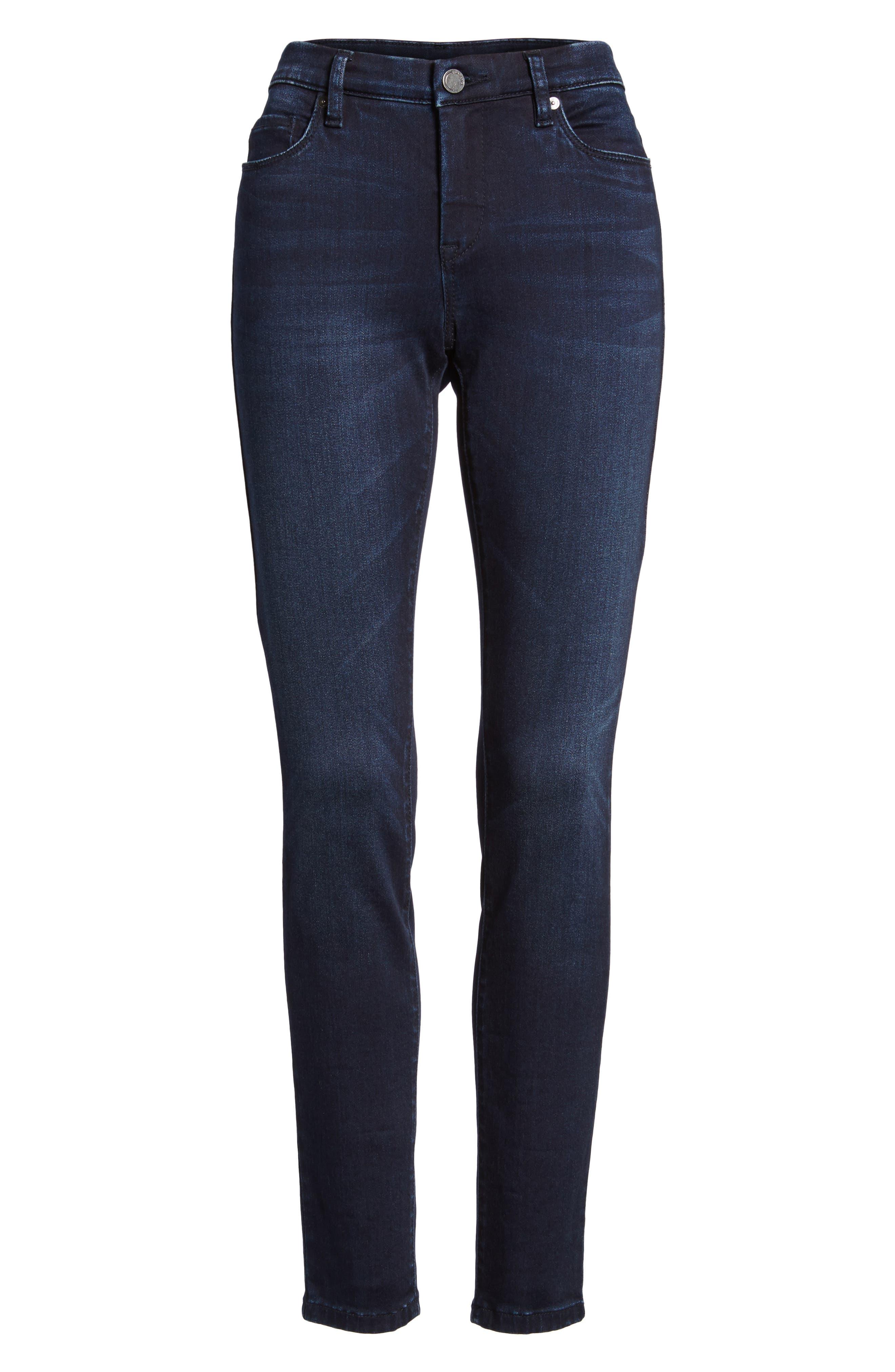 Alternate Image 6  - BLANKNYC Stretch Skinny Jeans (Junk Brain)