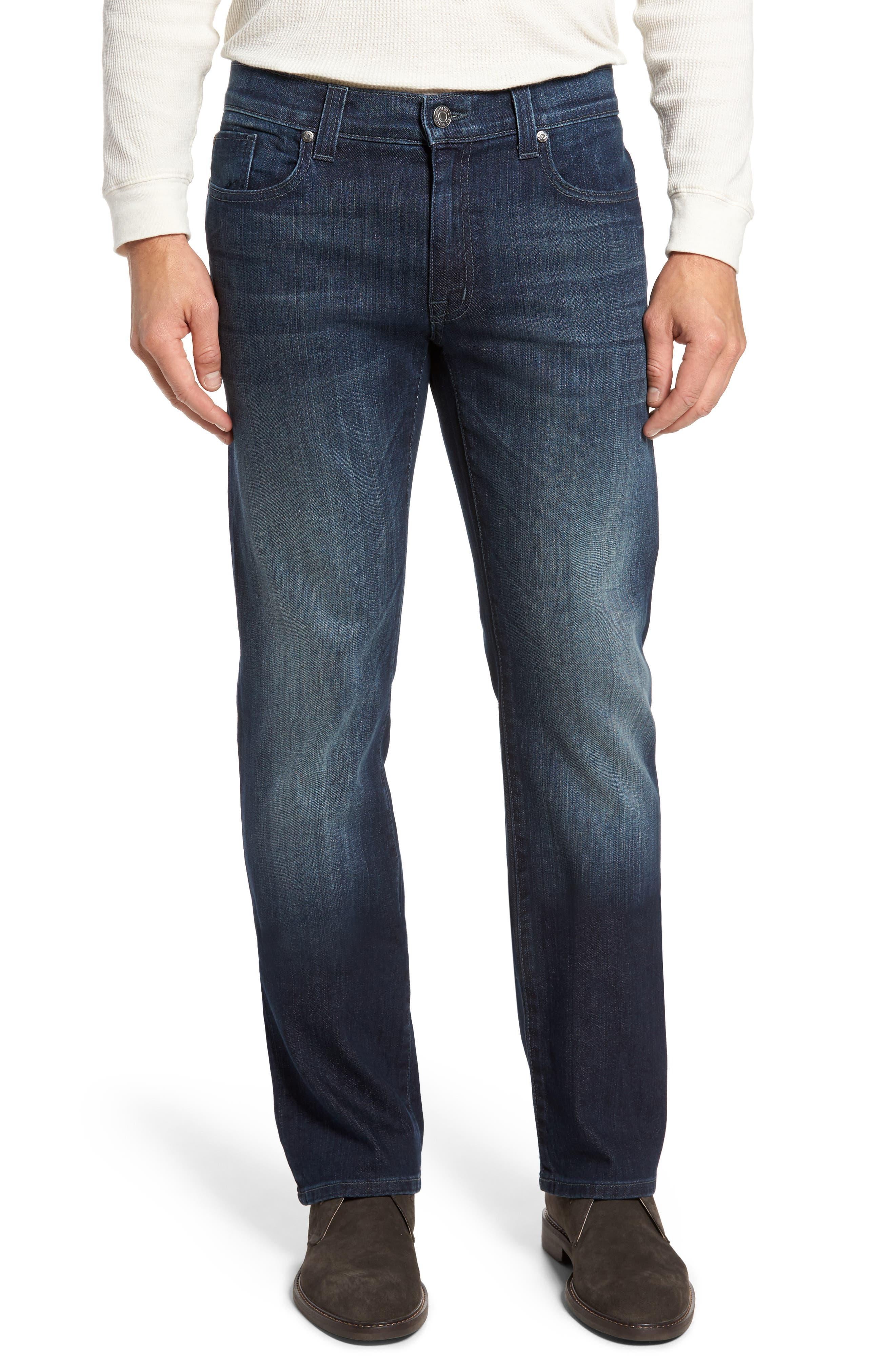 50-11 Relaxed Fit Jeans,                         Main,                         color, Militia Blue