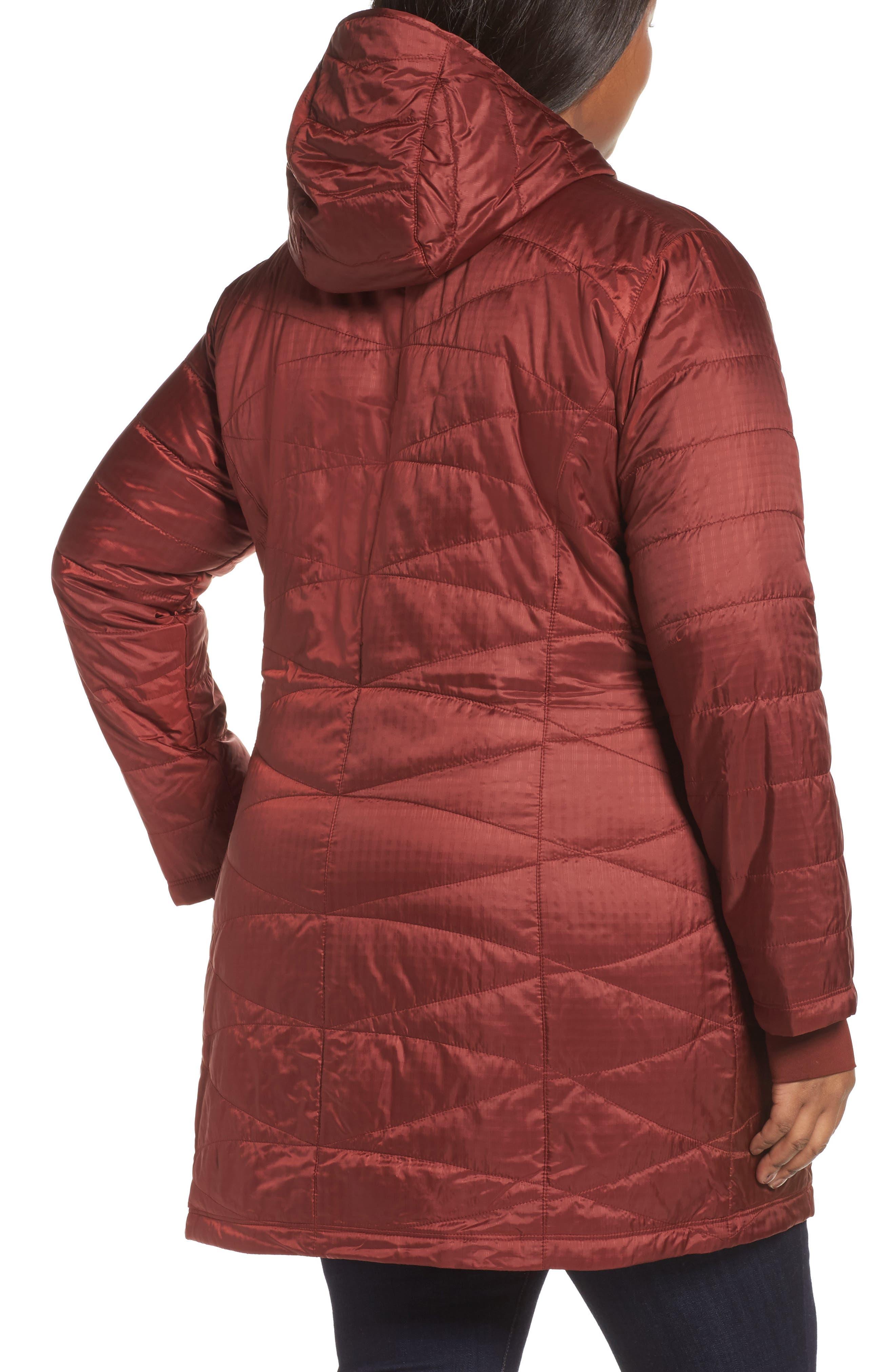 Mighty Lite Hooded Jacket,                             Alternate thumbnail 2, color,                             Deep Rust