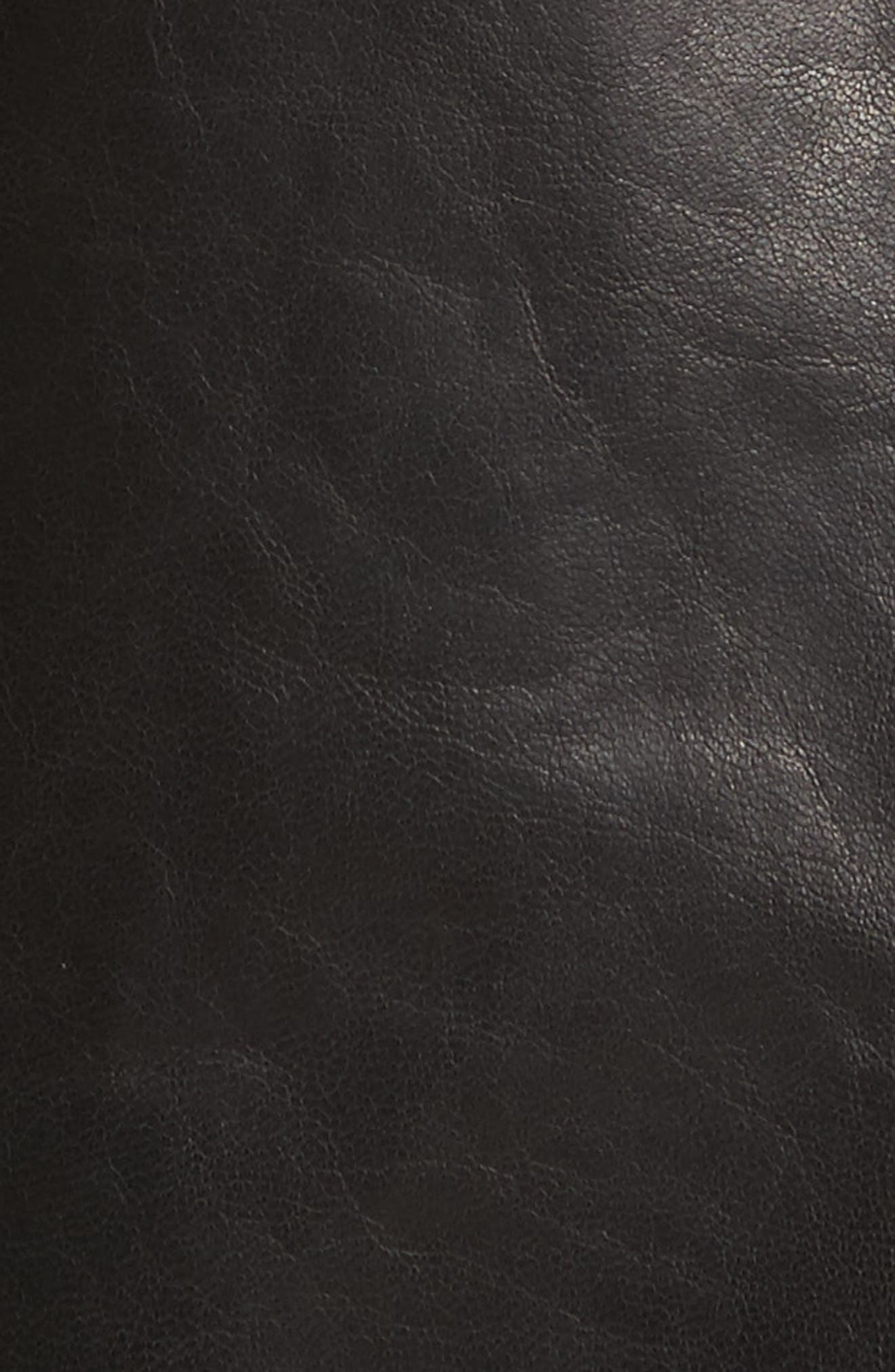 Alternate Image 5  - Lafayette 148 New York Caridee Glazed Lambskin Leather Jacket