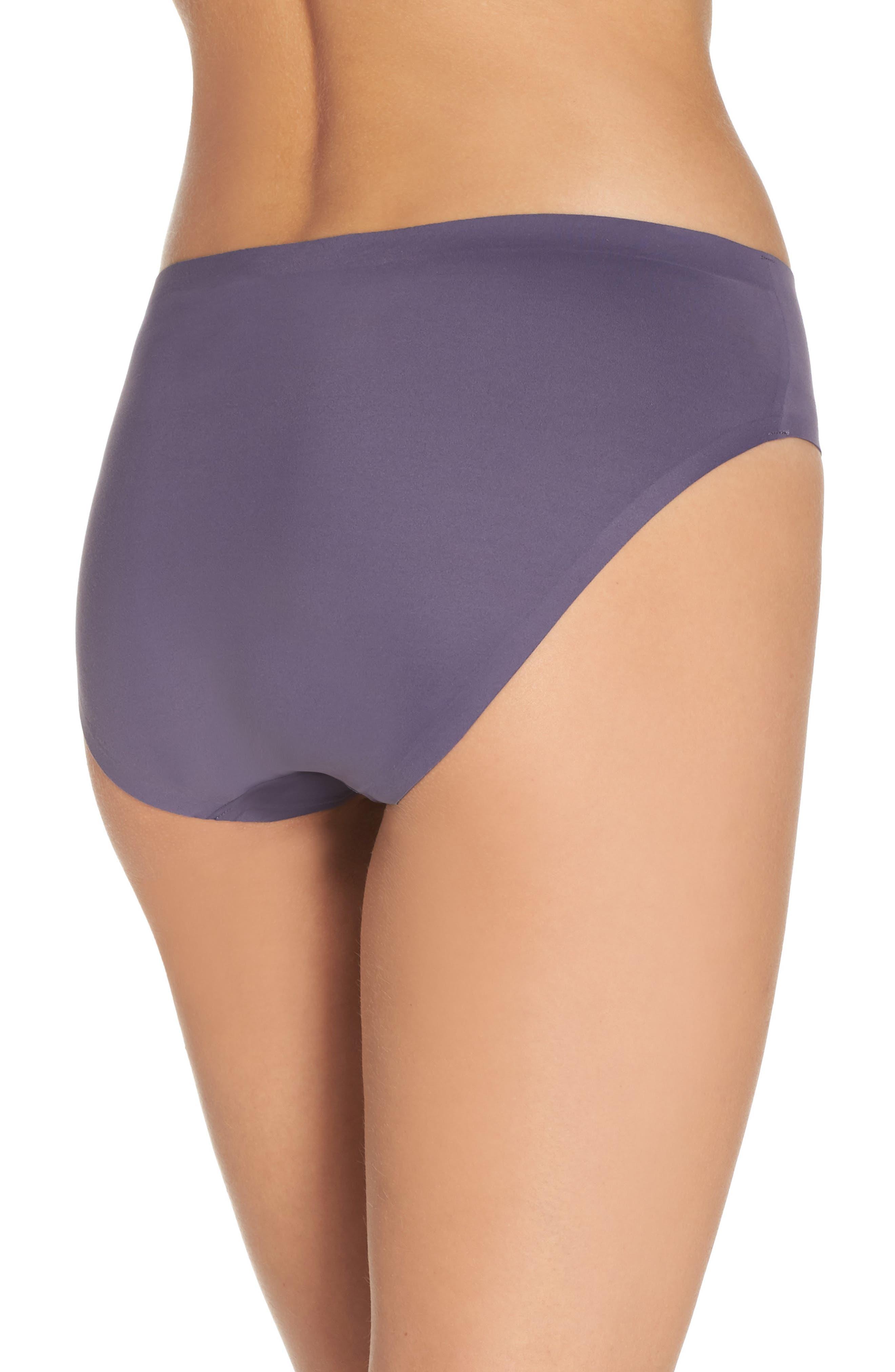 Undie-tectable B'tweenie Panty,                             Alternate thumbnail 2, color,                             Oxidized Purple