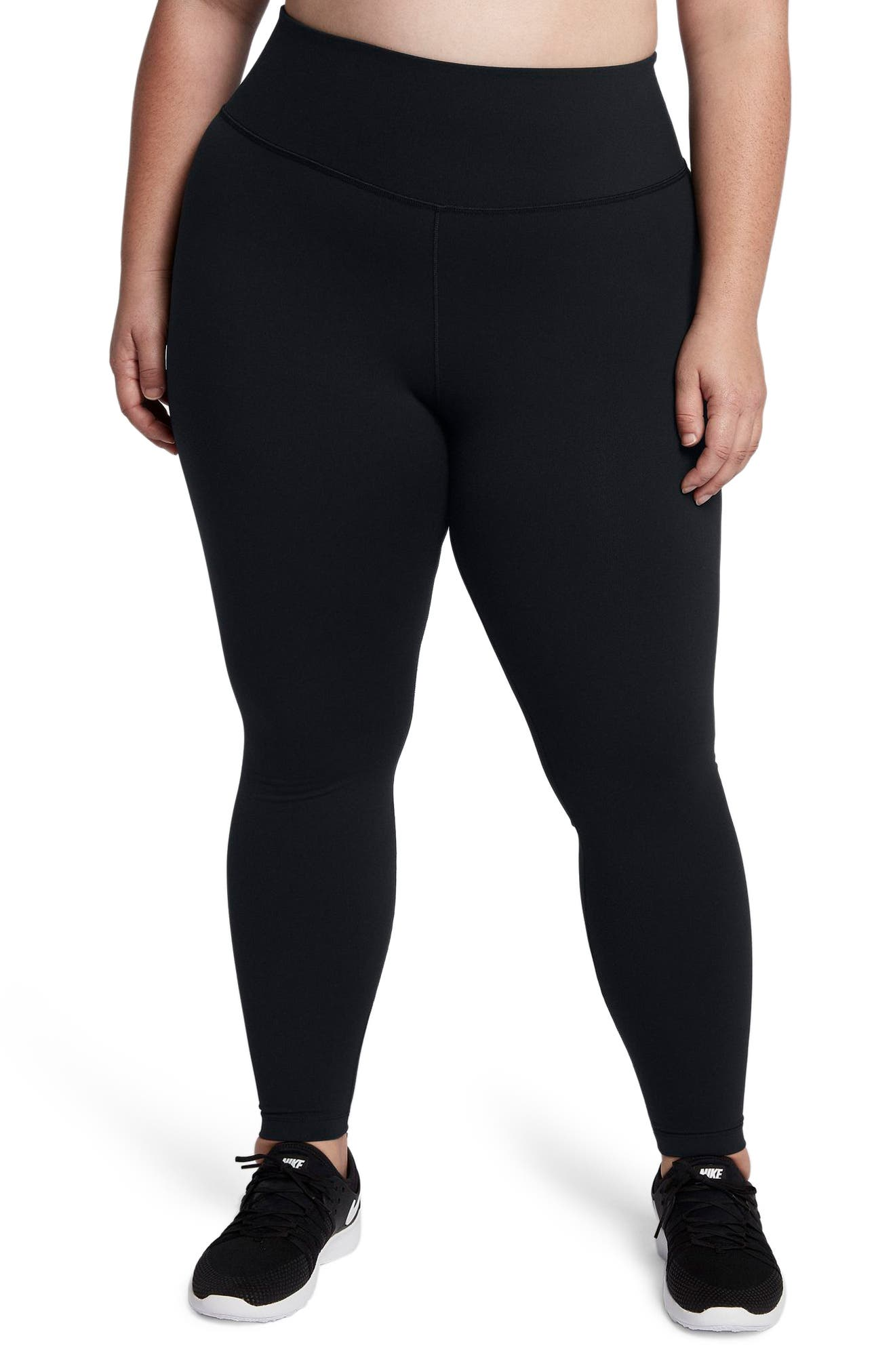 Main Image - Nike Power Sculpt Training Tights (Plus Size)