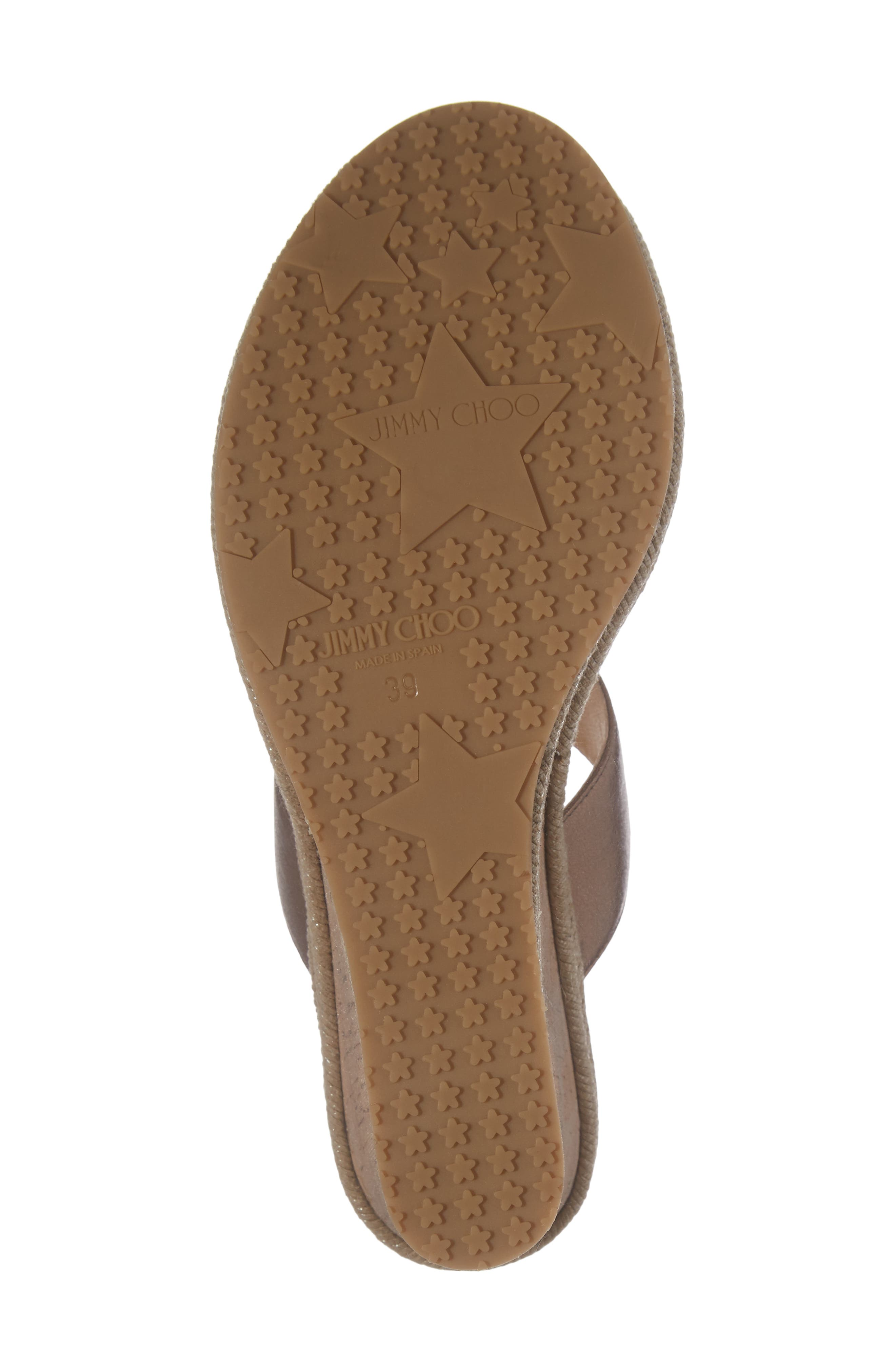 Alternate Image 6  - Jimmy Choo Parker Wedge Sandal (Women)