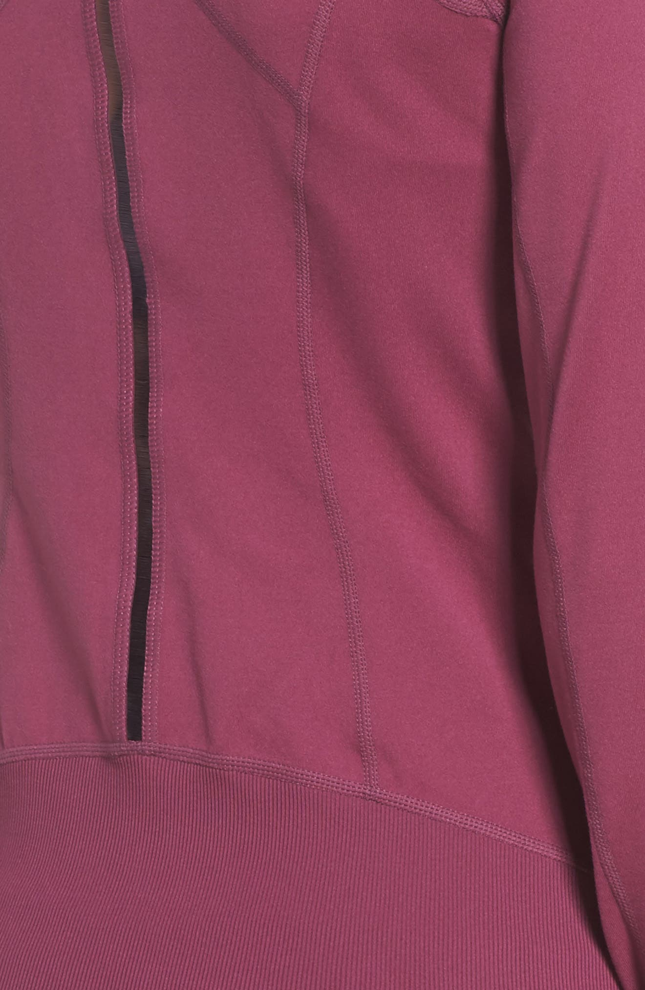 Presence Training Jacket,                             Alternate thumbnail 6, color,                             Purple Cabbage