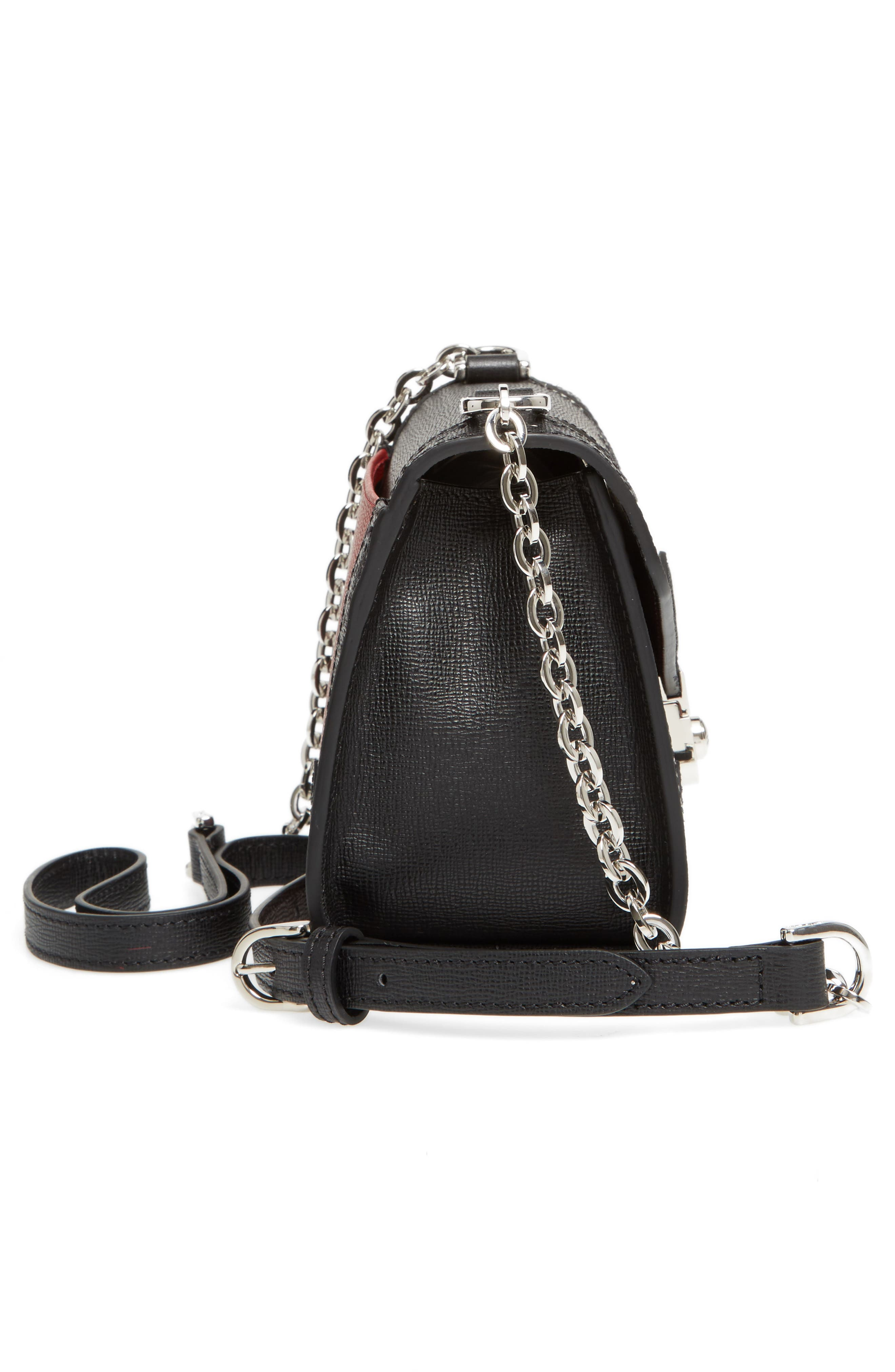 Alternate Image 4  - Longchamp Effrontée Leather Crossbody Bag