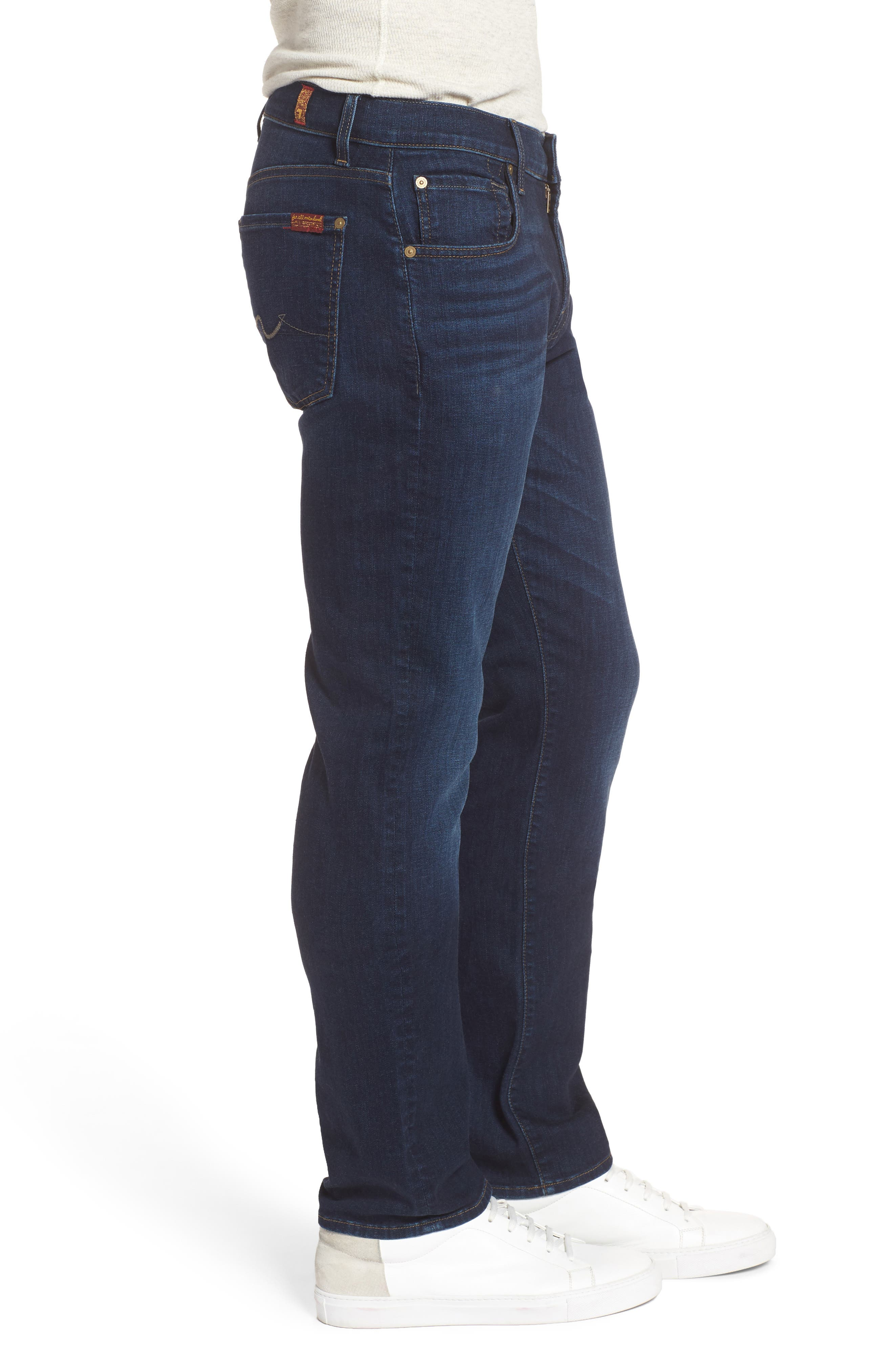 Alternate Image 3  - 7 For All Mankind® The Straight Slim Straight Leg Jeans (Valley)