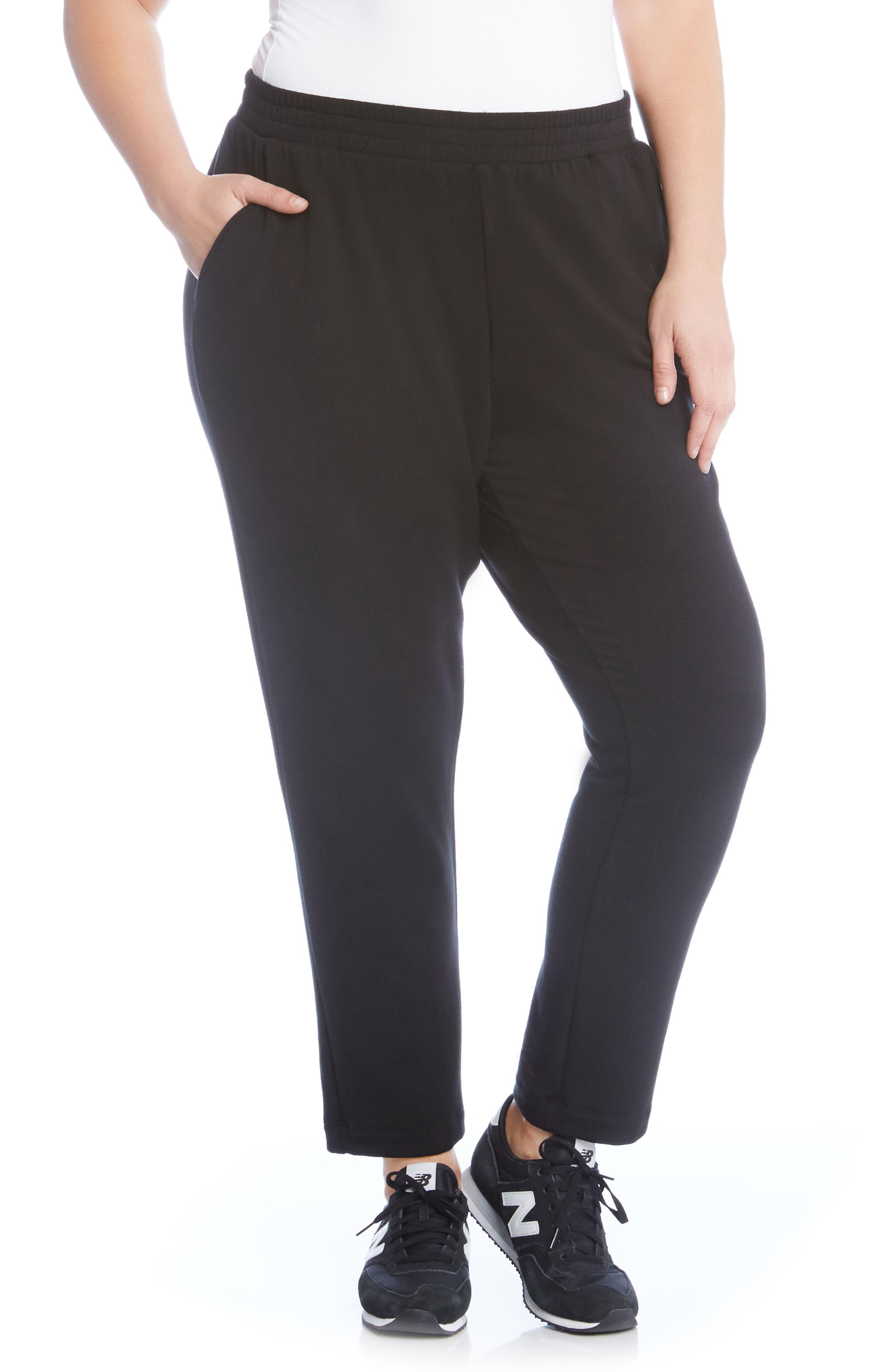 Main Image - Karen Kane Pull-On Sweatpants (Plus Size)