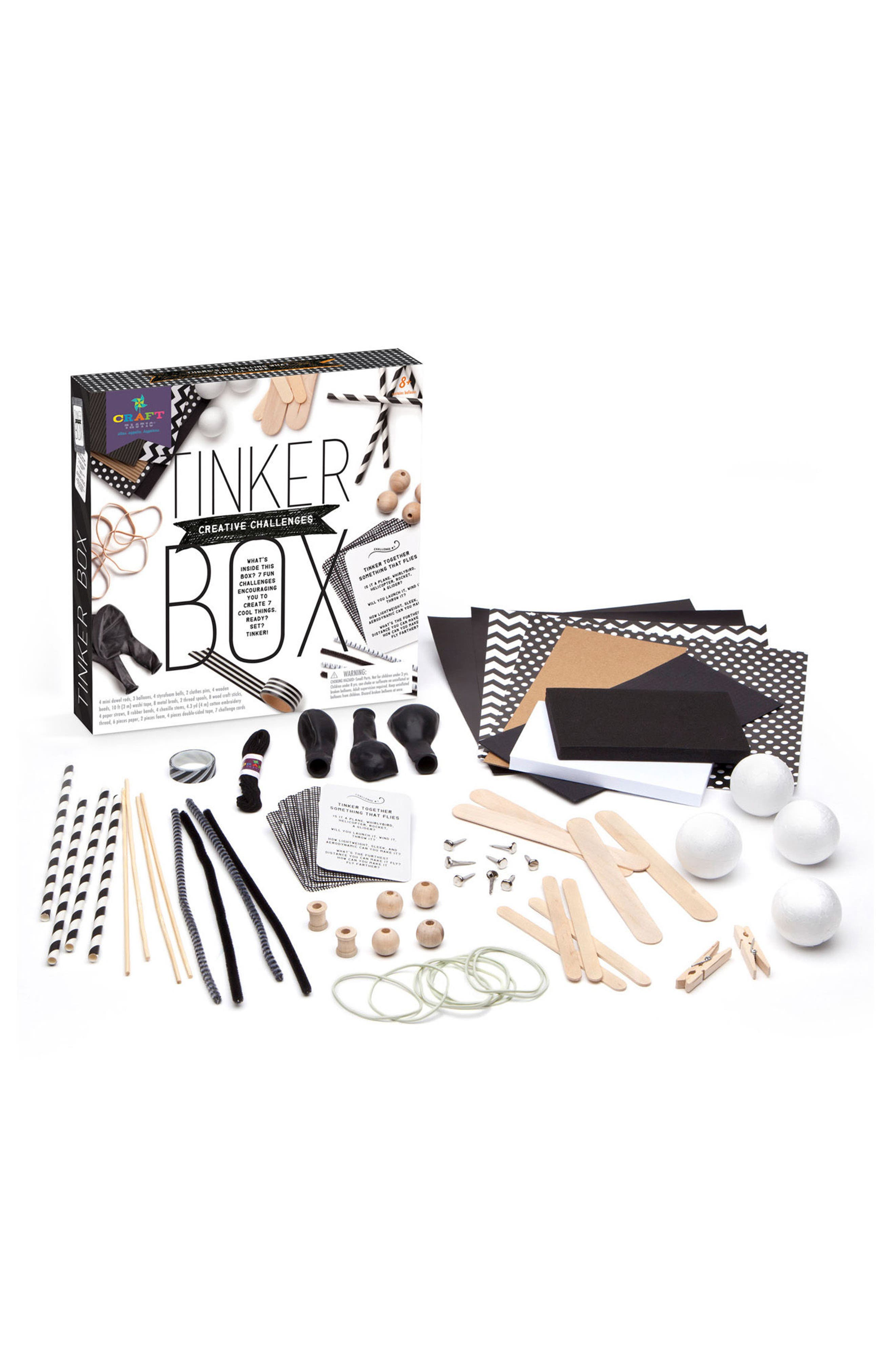 Alternate Image 1 Selected - CRAFT-TASTIC Tinker Box STEAM Activity Kit