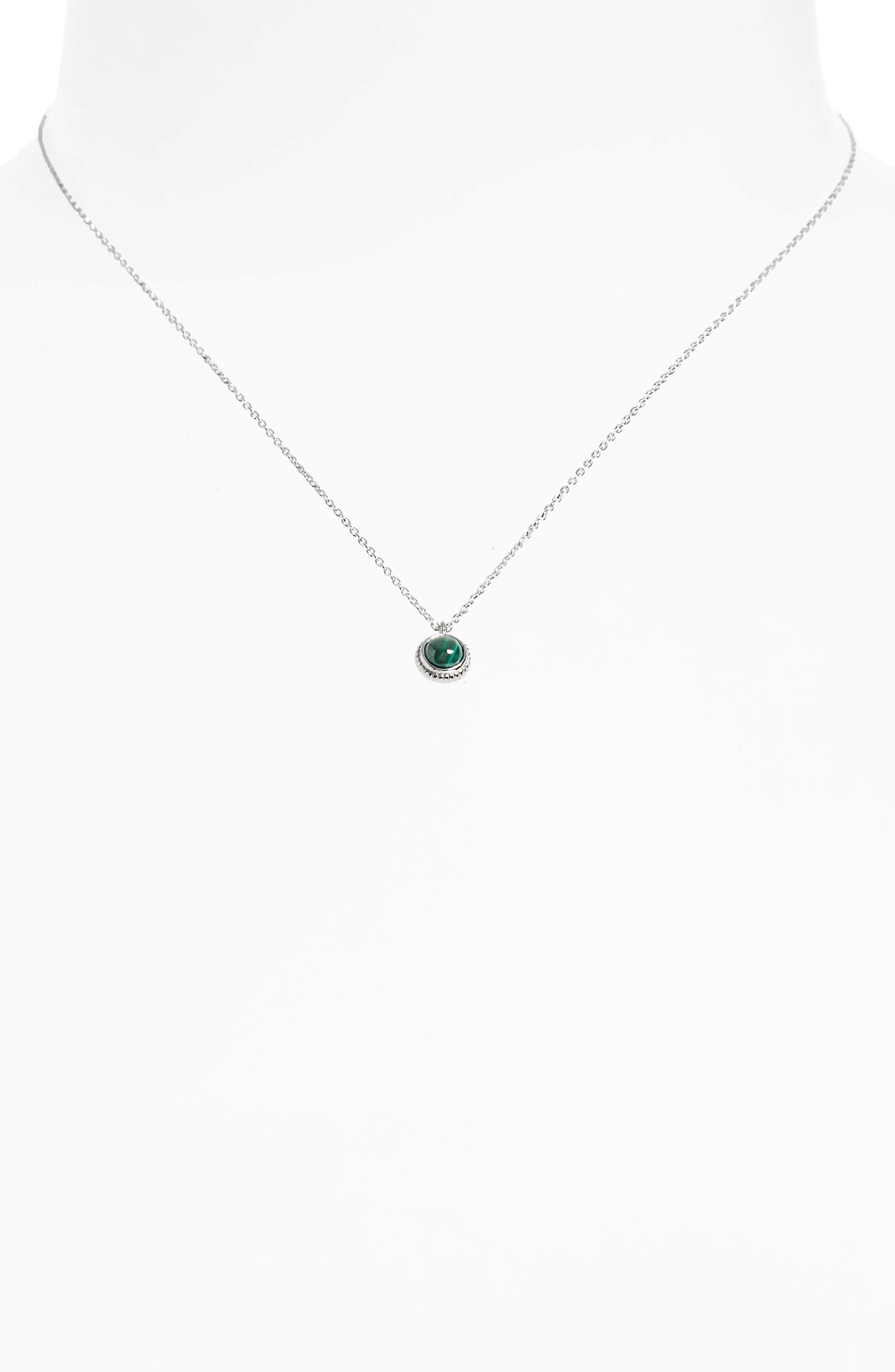 Alternate Image 2  - Shinola Semiprecious Stone Pendant Necklace