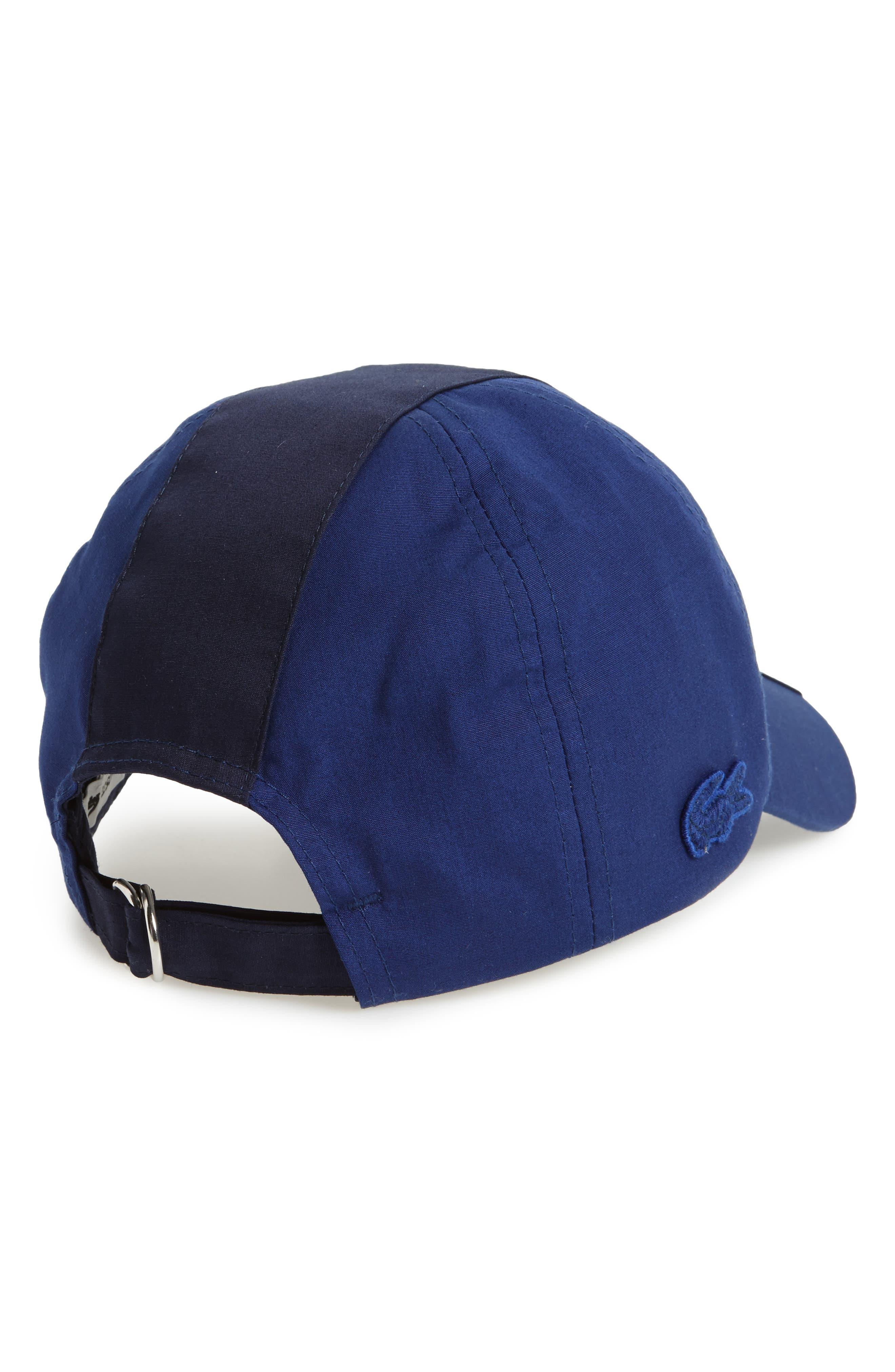 Colorblock Baseball Cap,                             Alternate thumbnail 2, color,                             Methylene/ Navy Blue