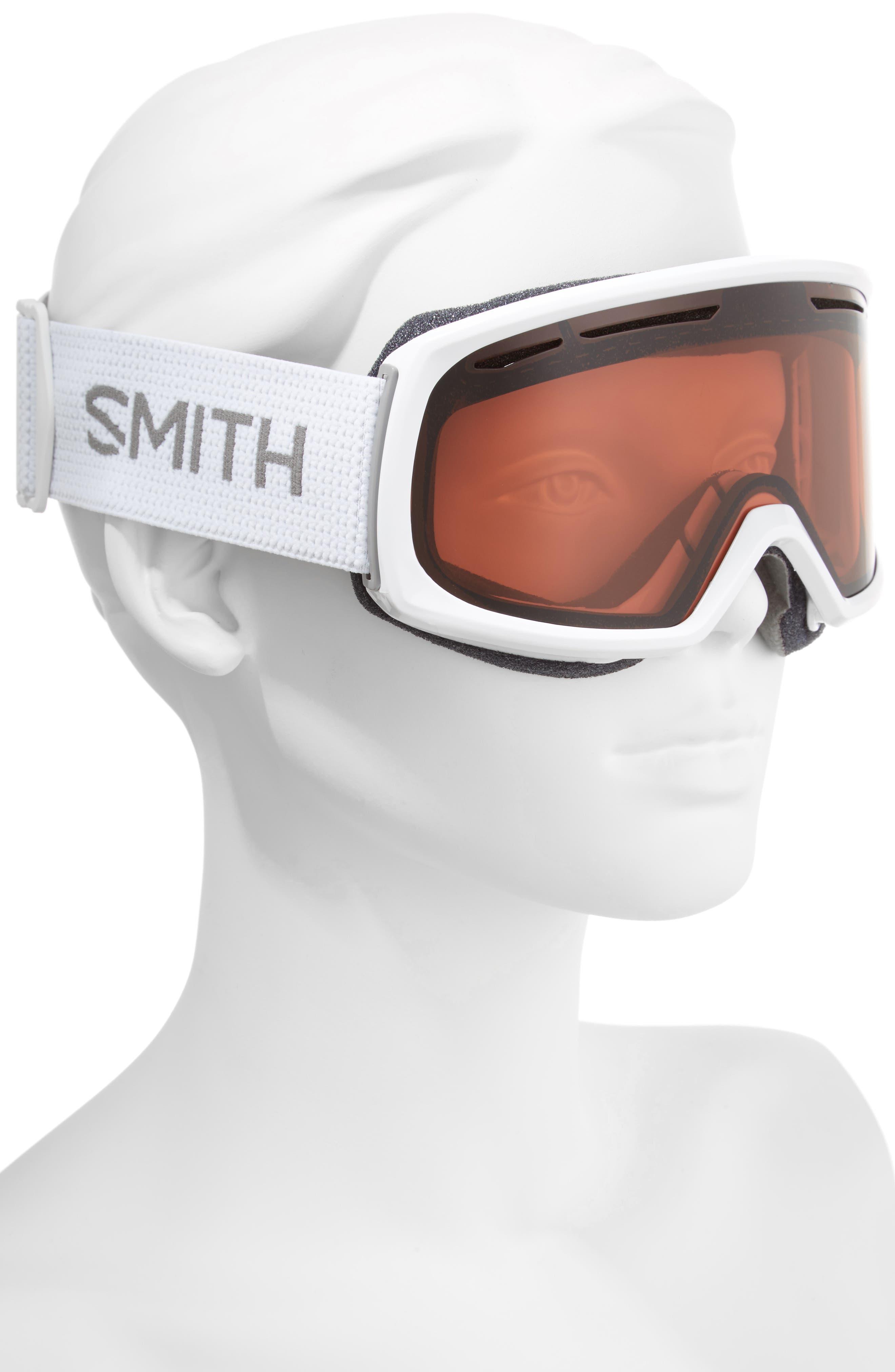 Drift Snow Goggles,                             Alternate thumbnail 3, color,                             White/ Mirror