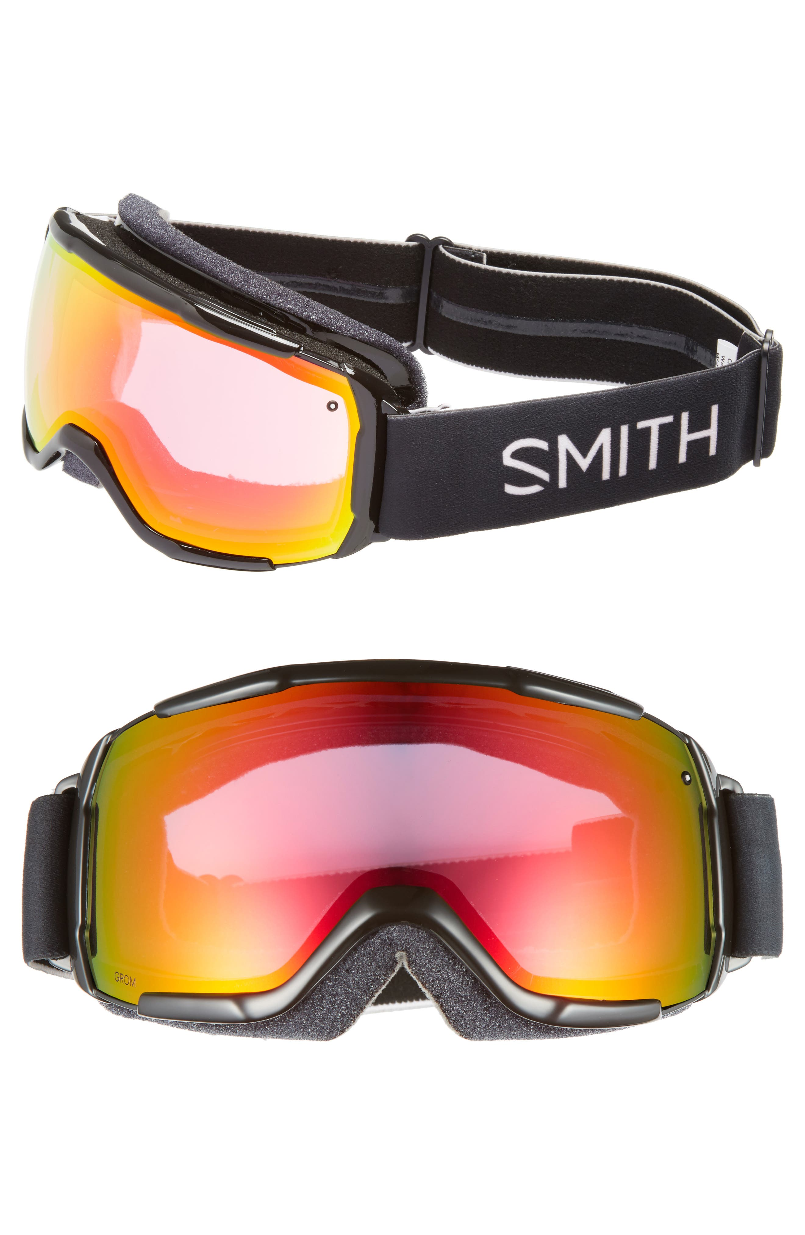 GROM SNOW GOGGLES - BLACK/ MIRROR