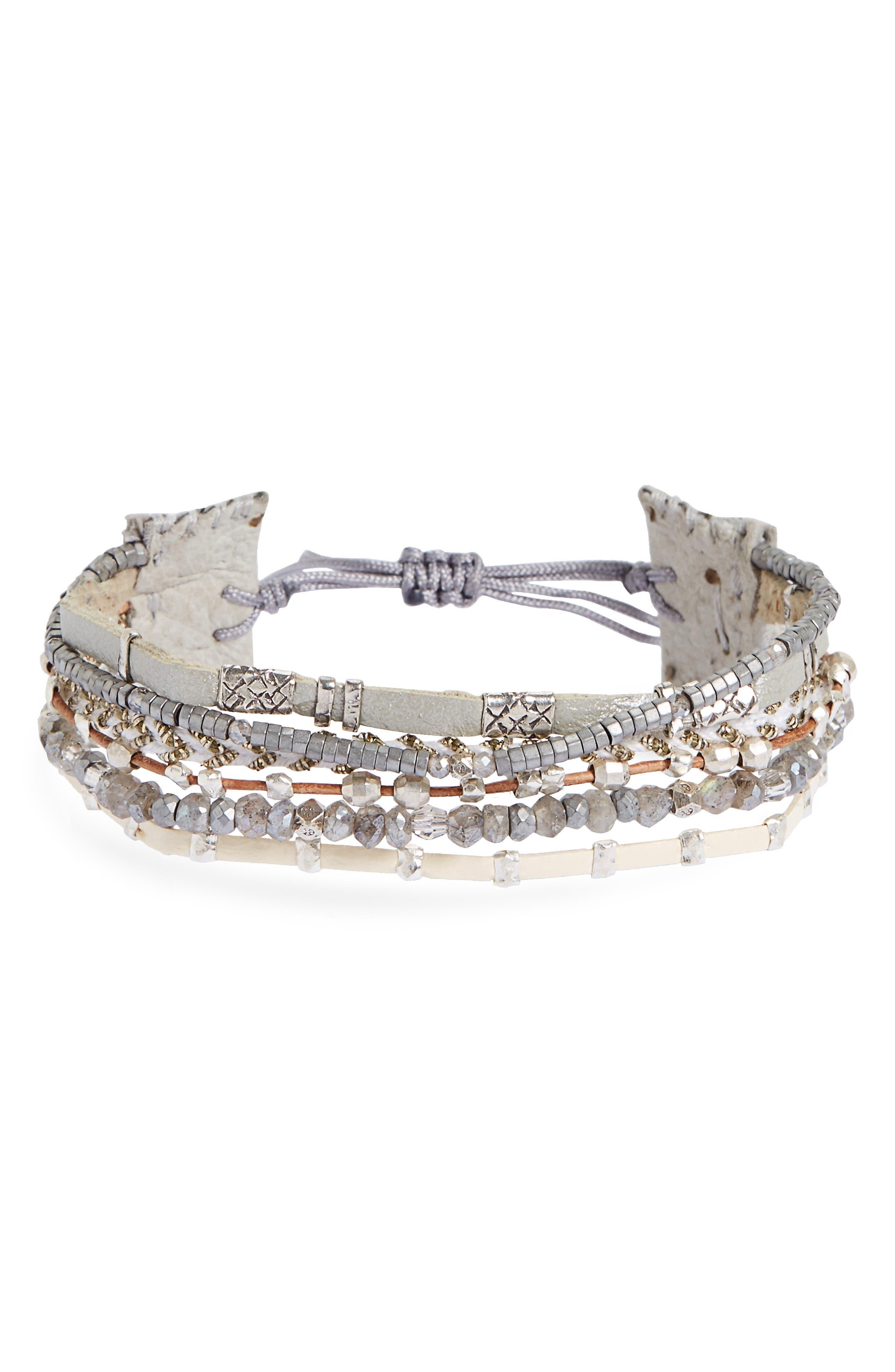 Chan Luu Multistrand Cuff Bracelet
