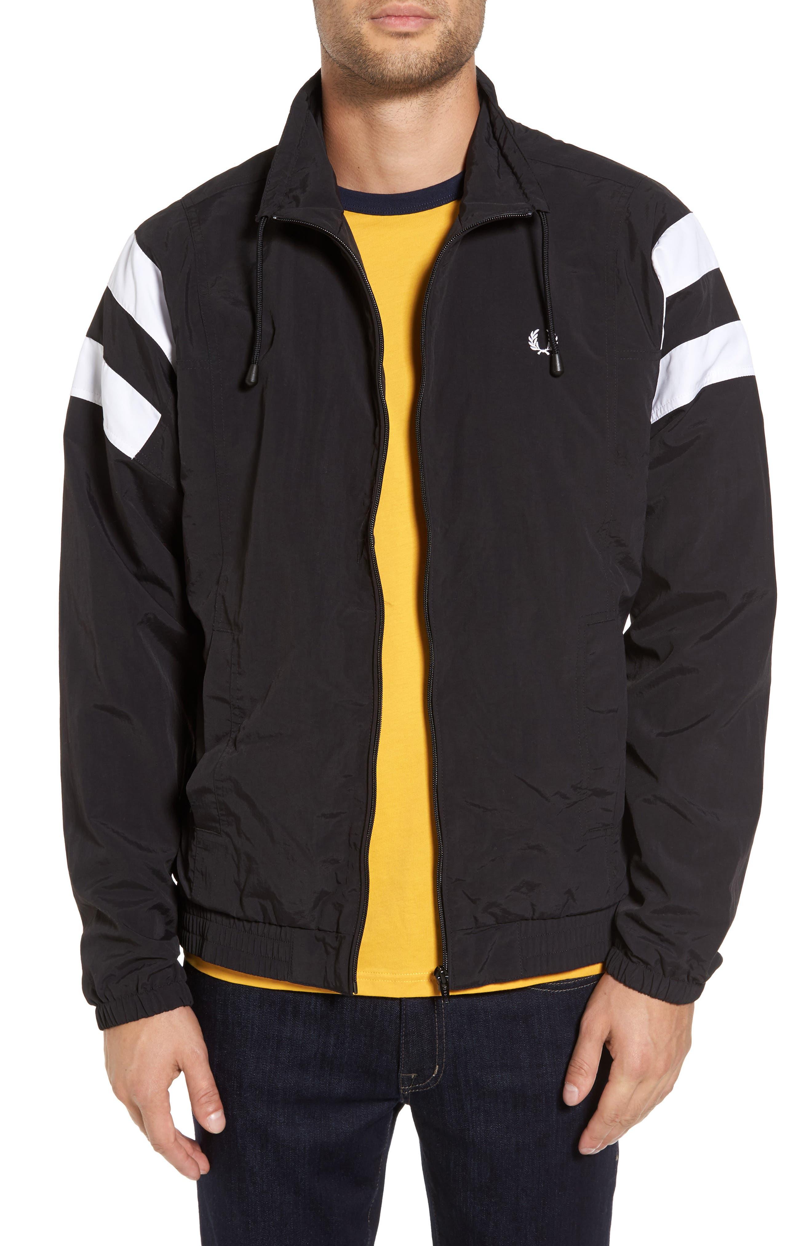 Tennis Jacket,                         Main,                         color, Black