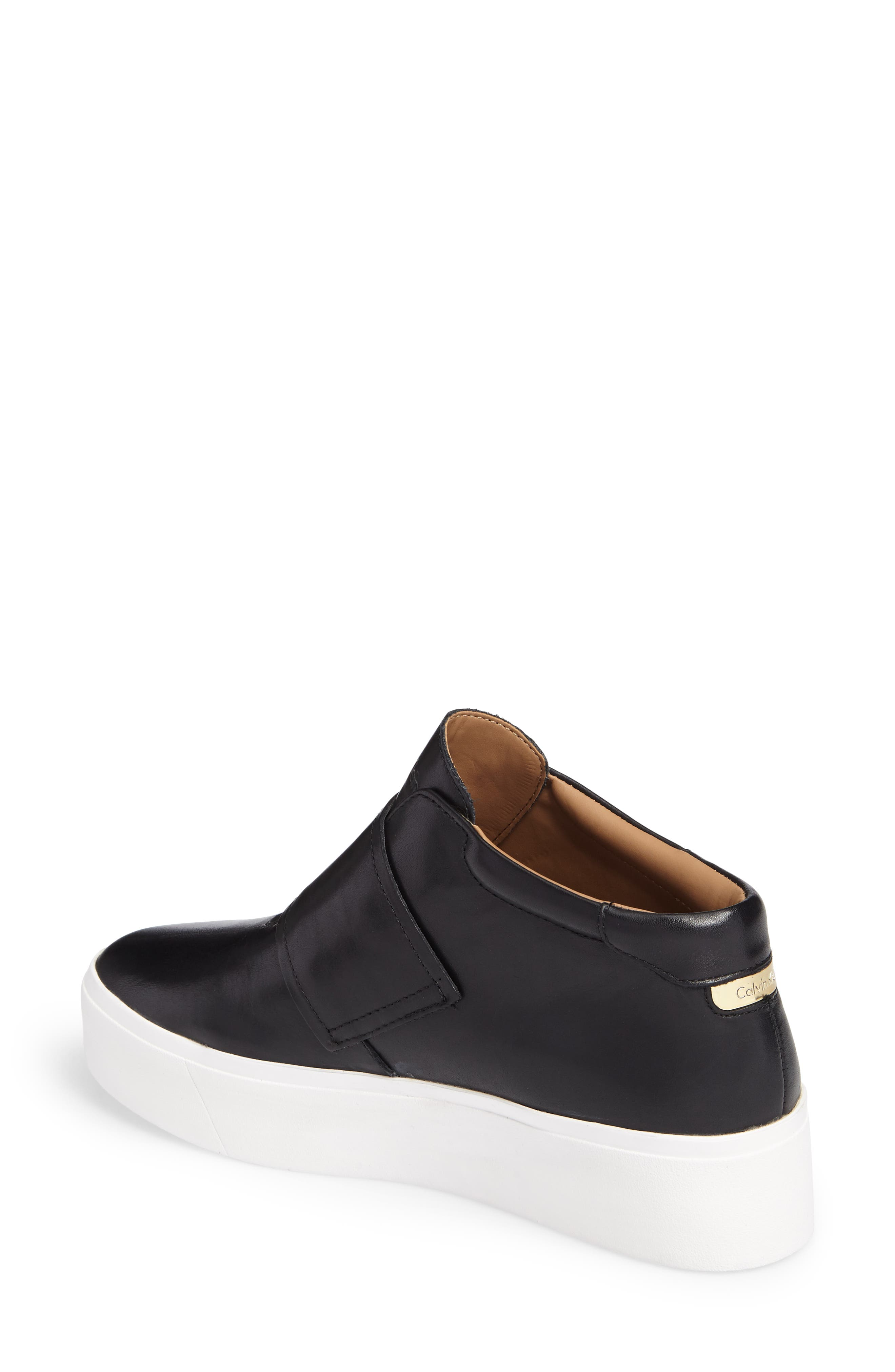 Alternate Image 2  - Calvin Klein Jessamine Platform Sneaker (Women)