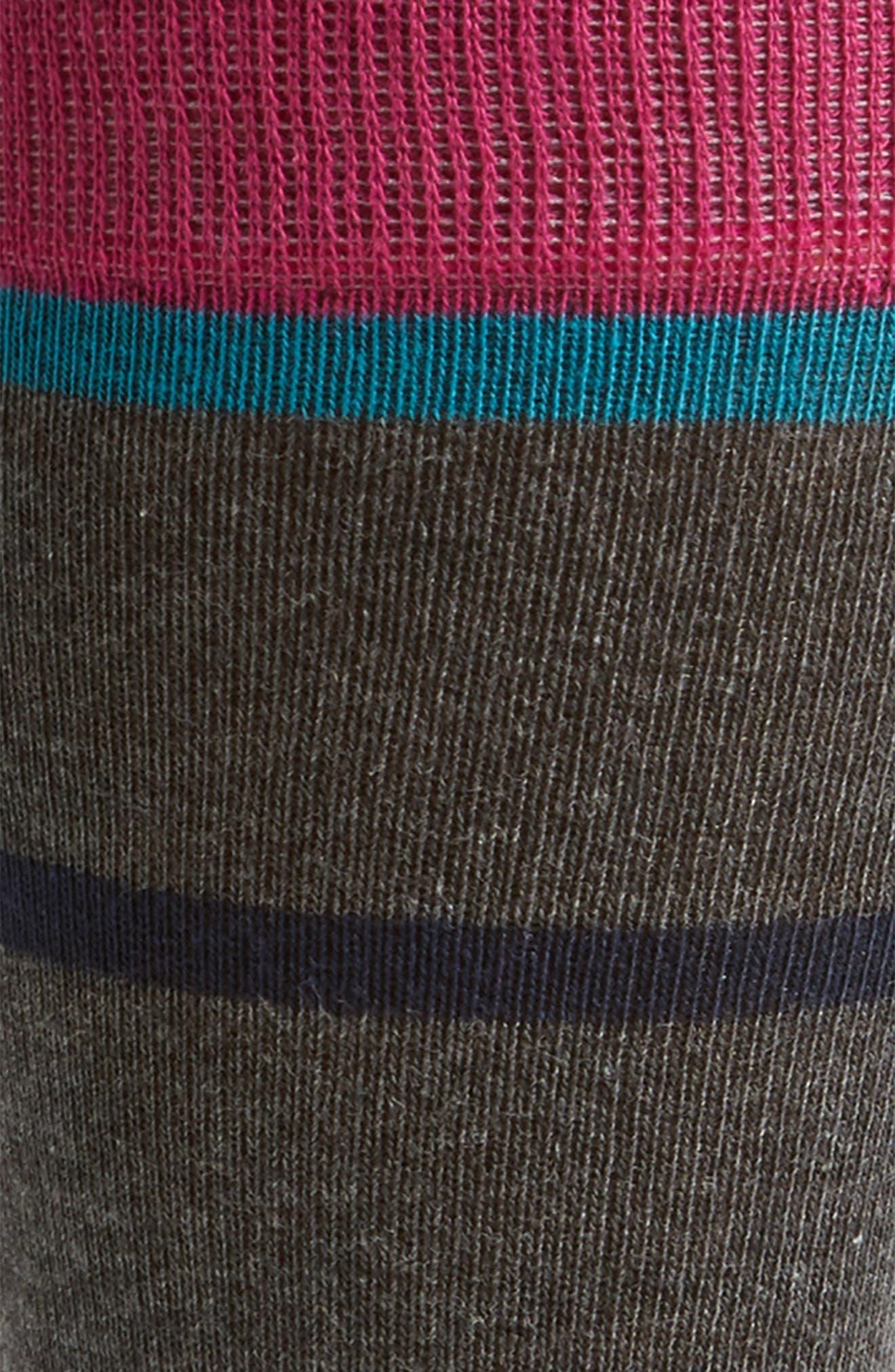 Alternate Image 2  - Ted Baker London Stripe Crew Socks