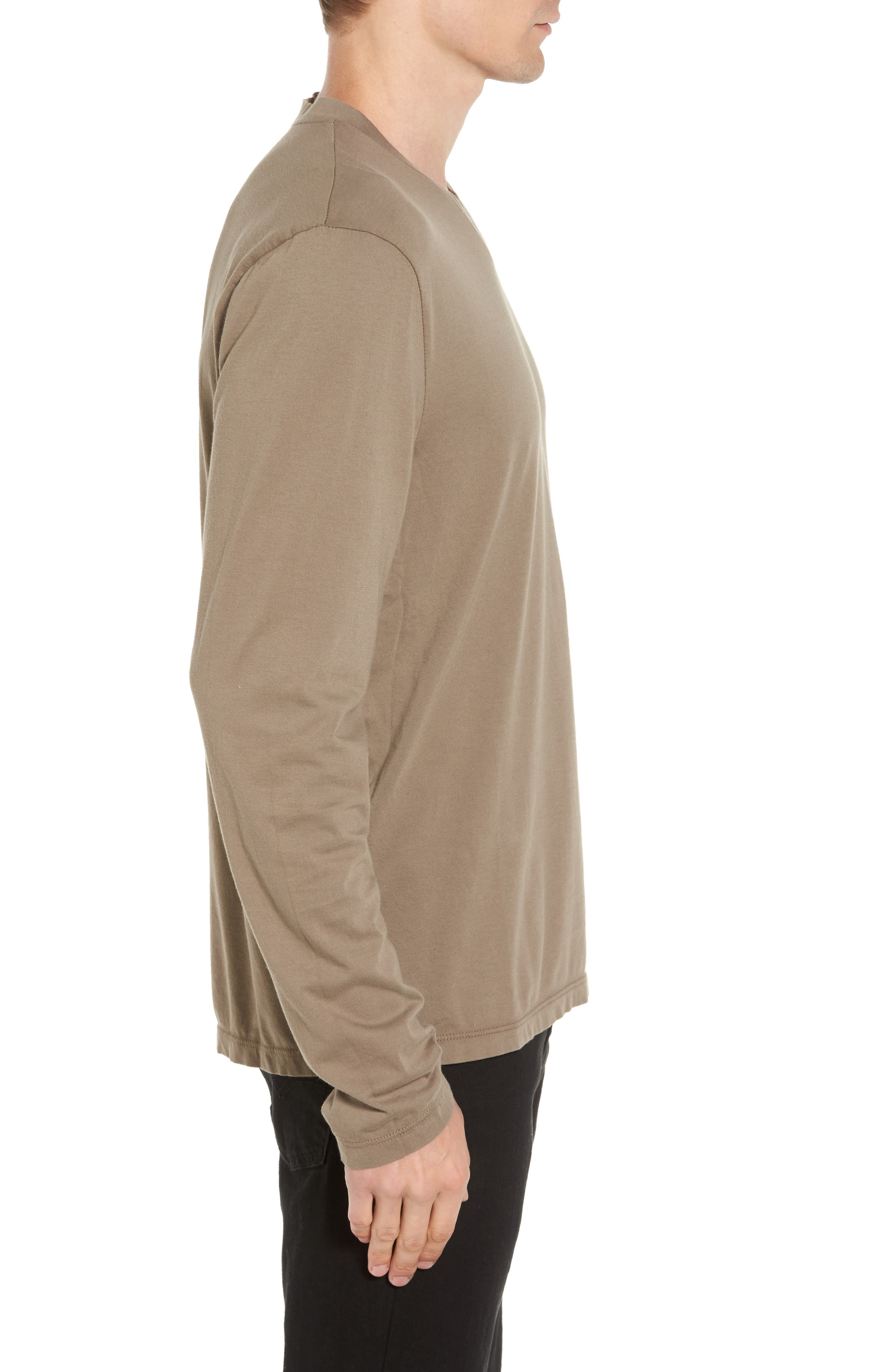 Alternate Image 3  - James Perse Suvin V-Neck Sweatshirt