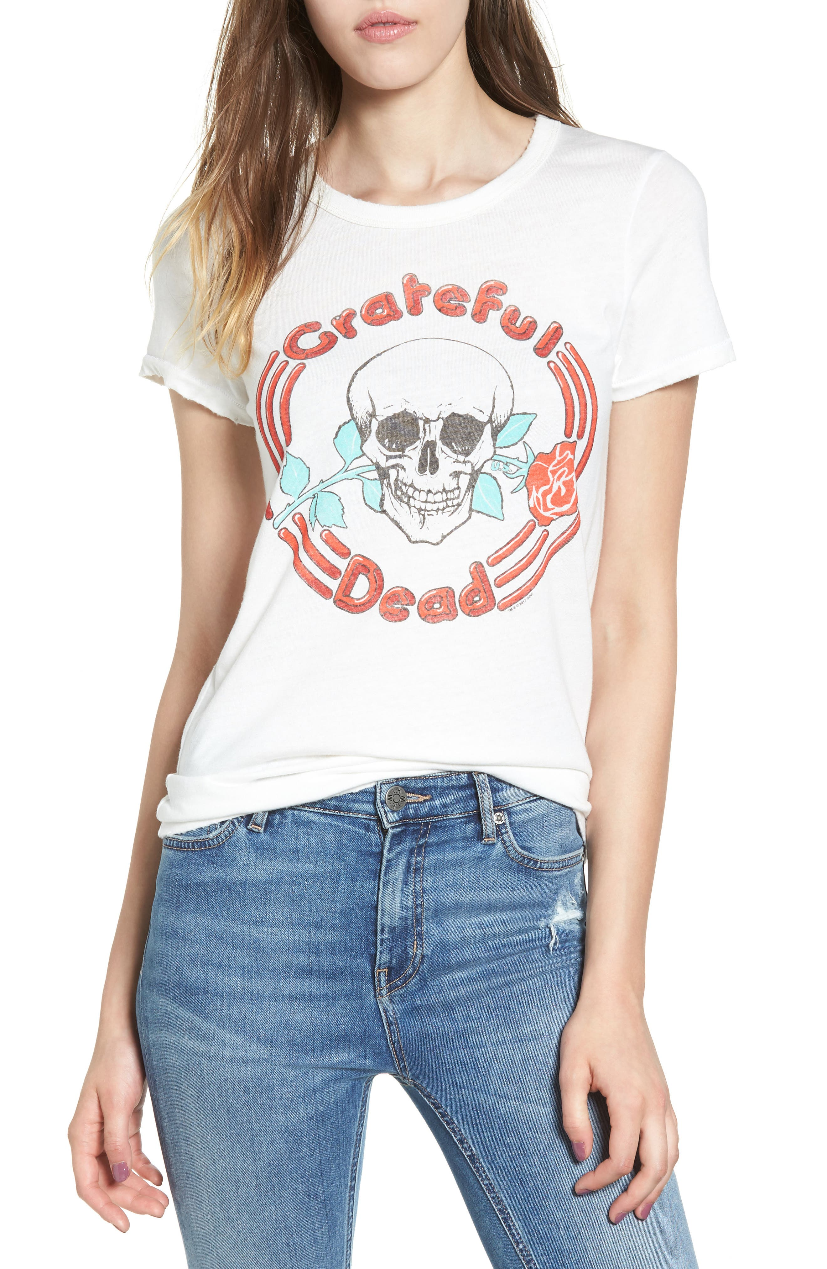 Alternate Image 1 Selected - Junk Food Grateful Dead Tee