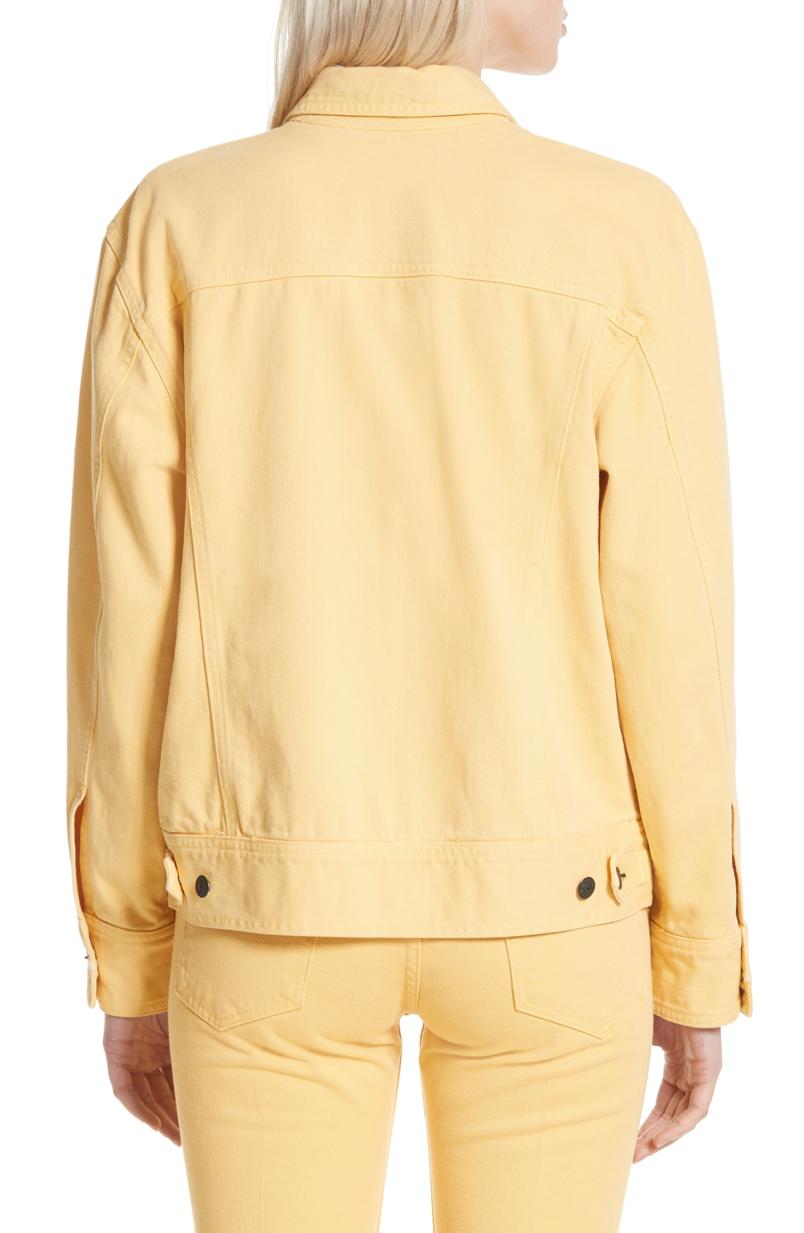 Alternate Image 2  - rag & bone Oversize Twill Jacket