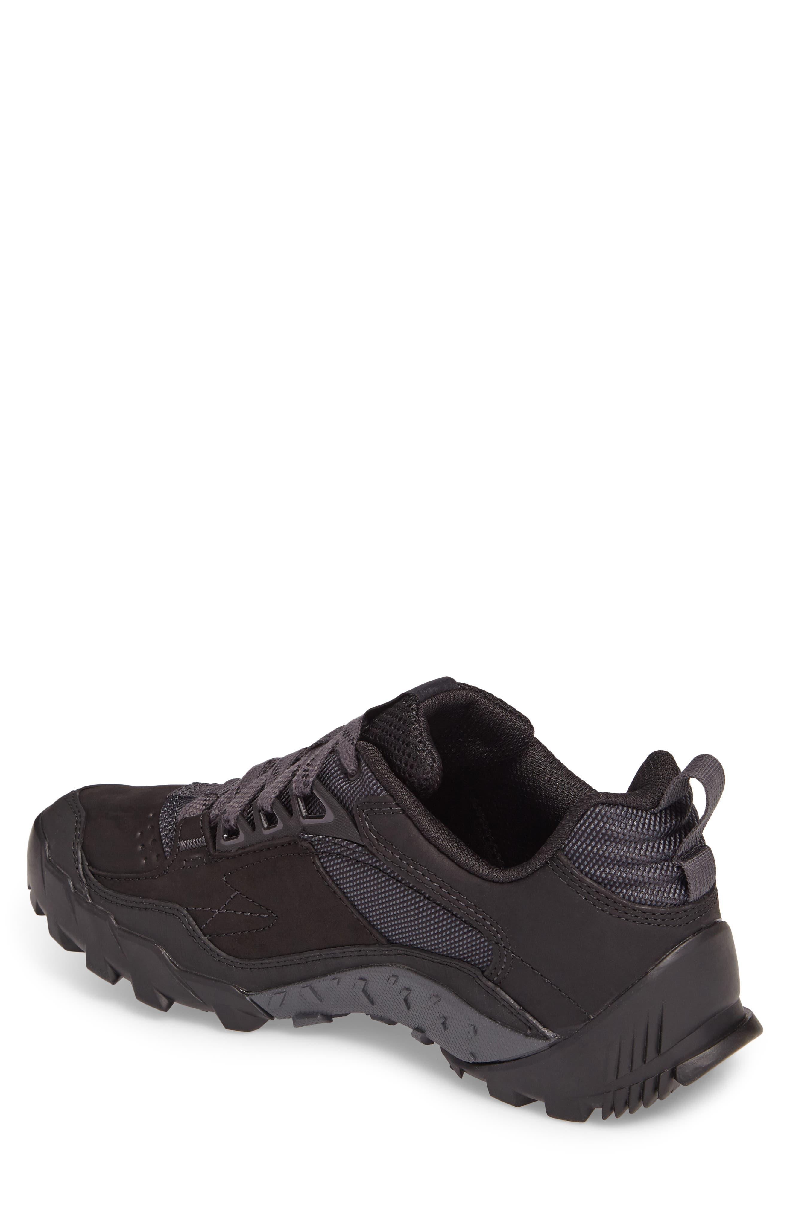 Annex Tak Low Hiking Shoe,                             Alternate thumbnail 2, color,                             Black Nubuck Leather