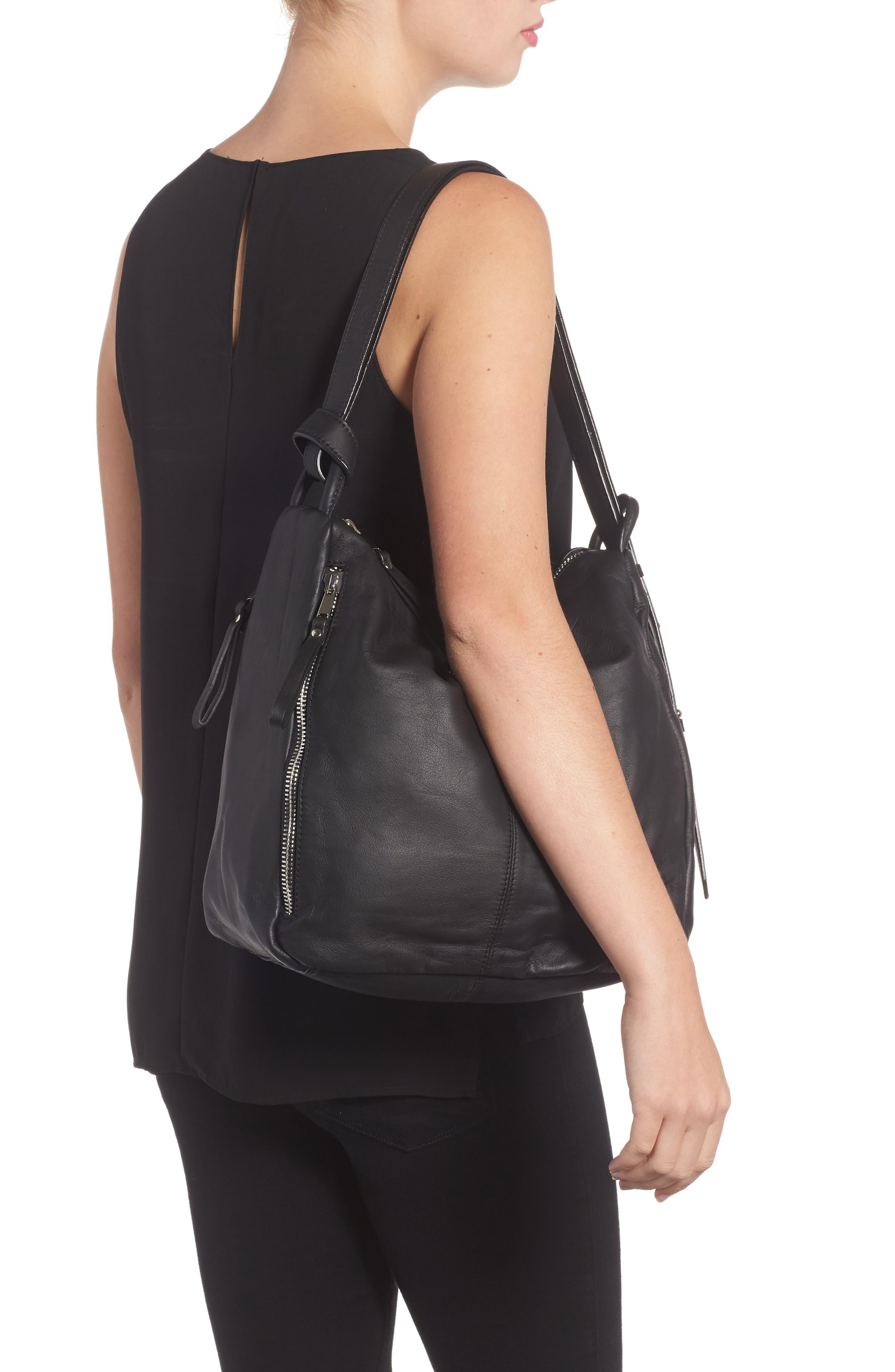 Alternate Image 2  - Topshop Premium Leather Sling Shoulder Bag