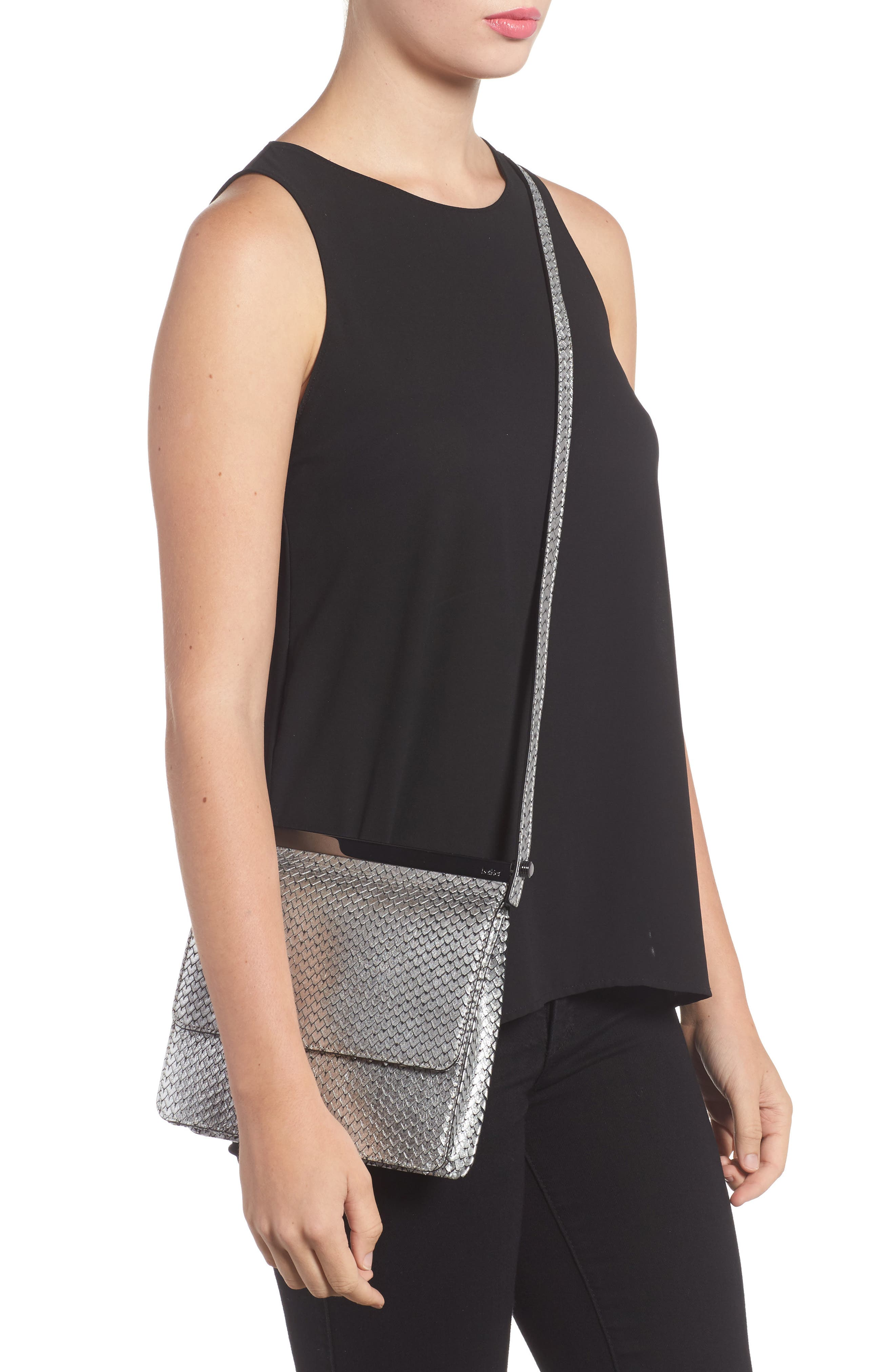 Alternate Image 2  - Botkier Crawford Calfskin Leather Crossbody Bag