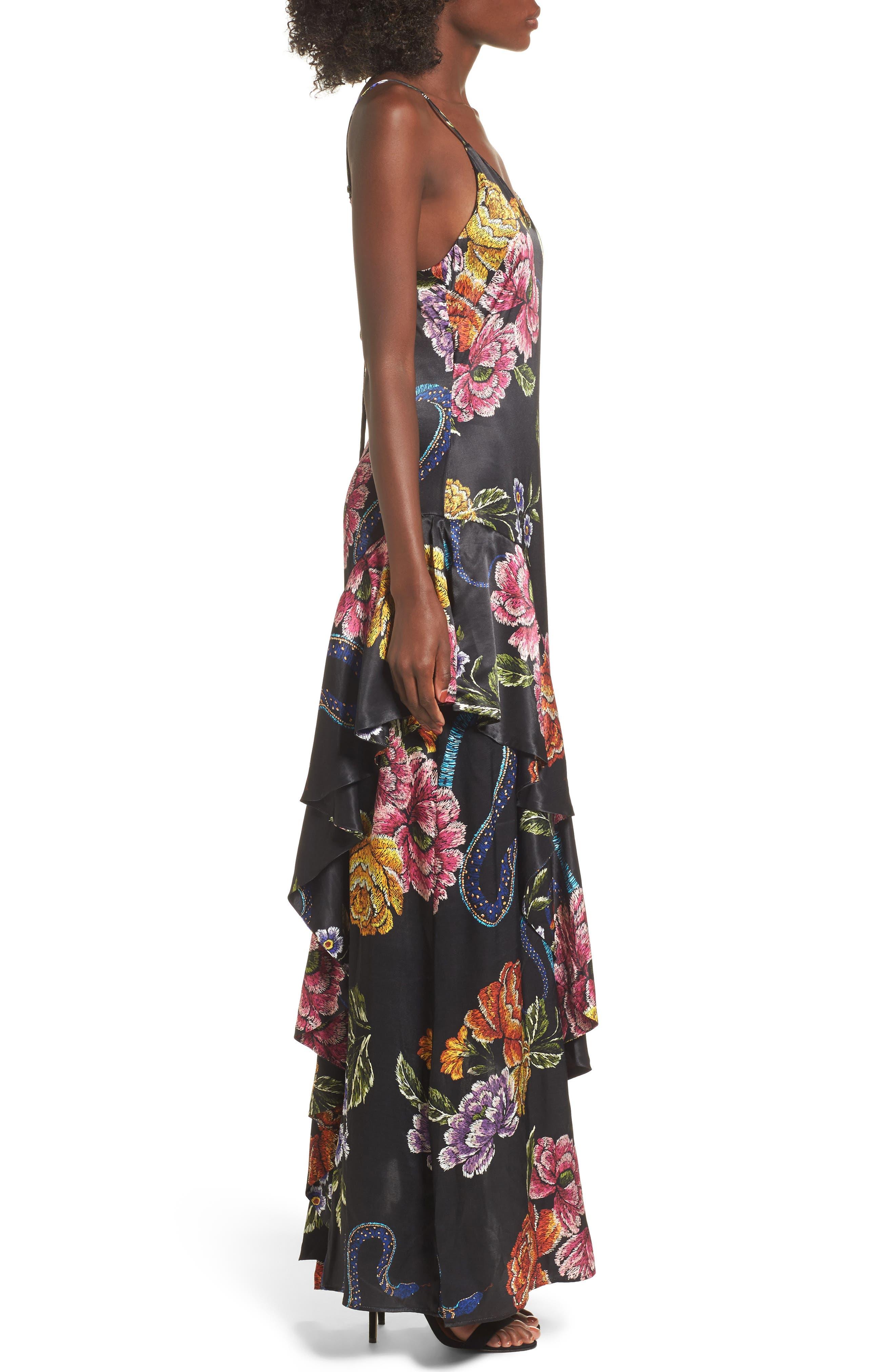 Alternate Image 3  - AFRM Florence Ruffle Maxi Dress