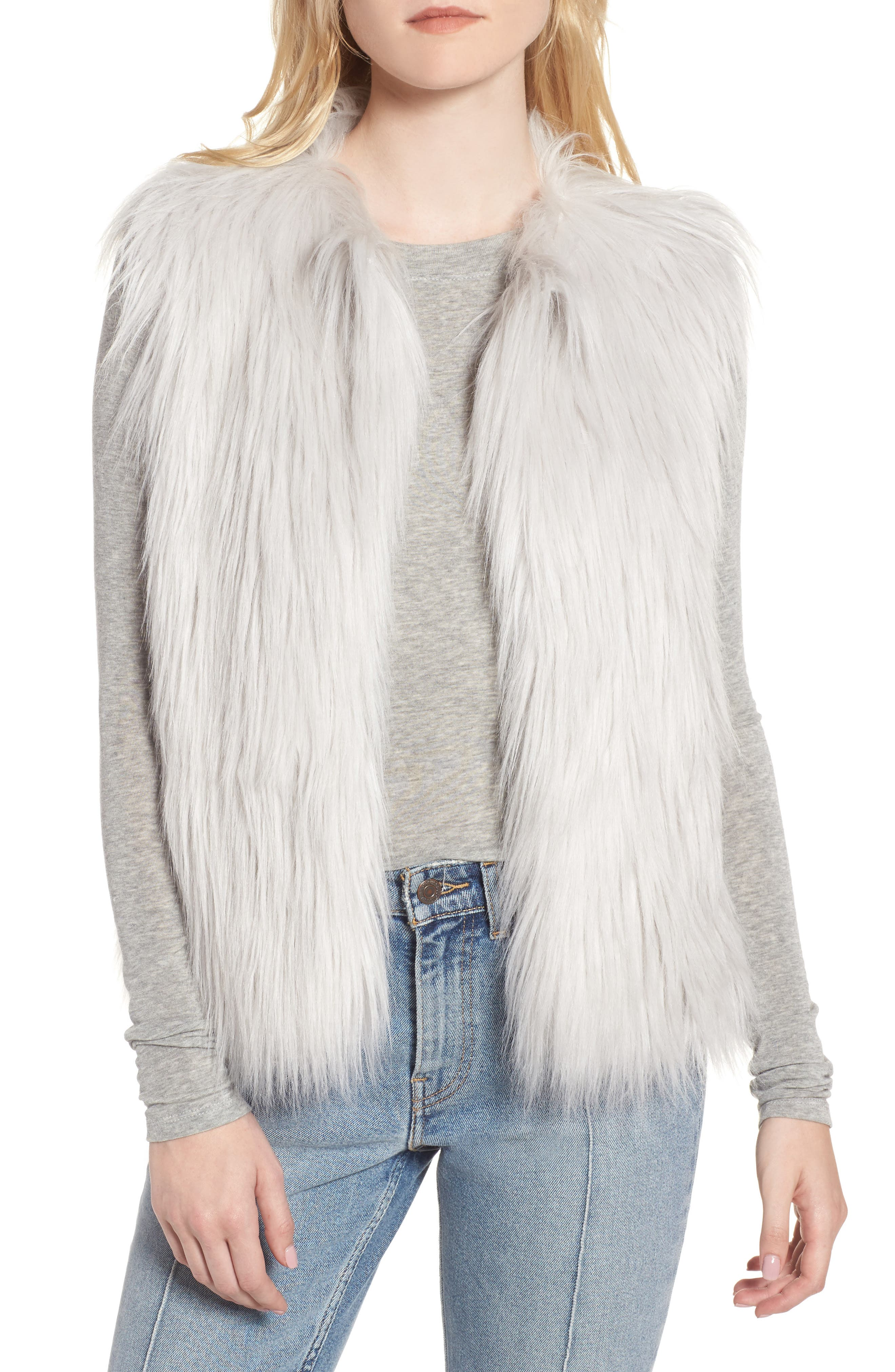 Heurueh Riko Faux Fur Vest