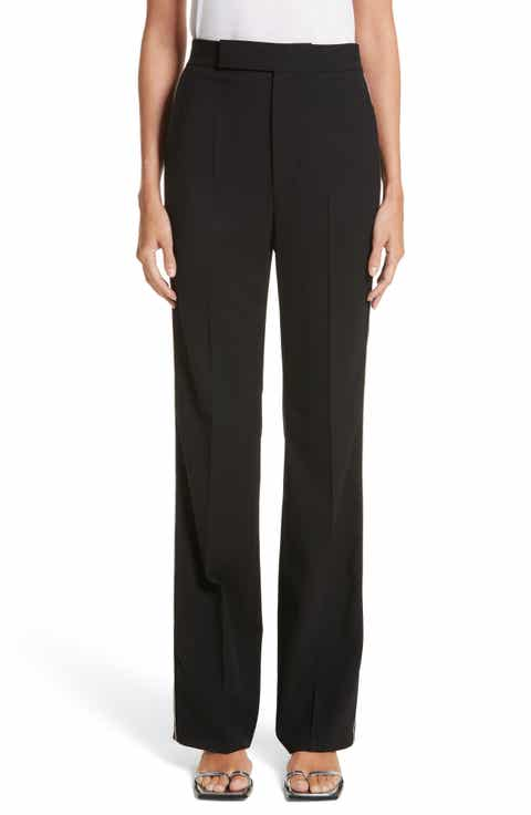 Helmut Lang Side Zip Detail Suiting Pants