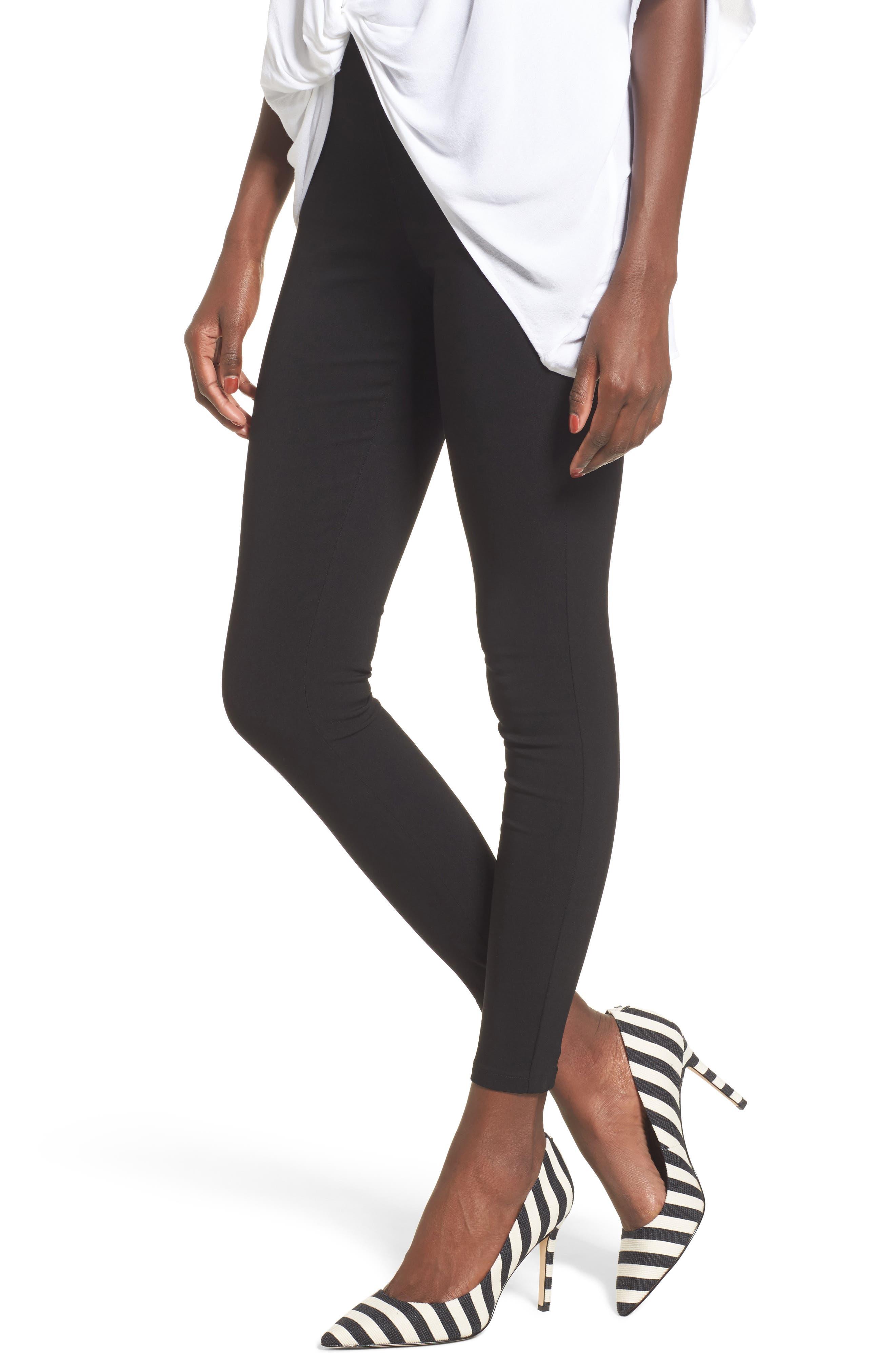 Legging Jeans,                         Main,                         color, Black