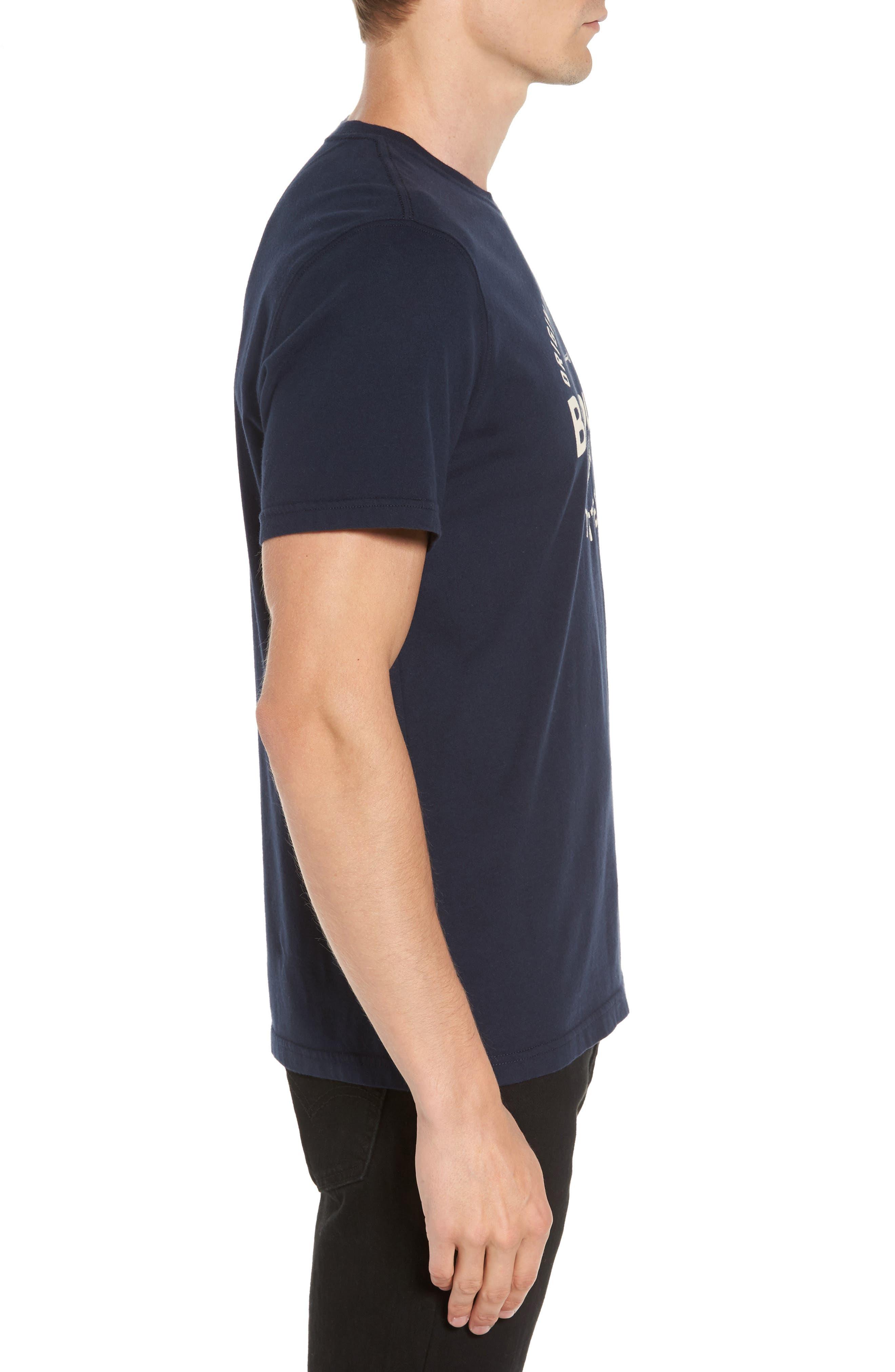 Berwick Logo Graphic T-Shirt,                             Alternate thumbnail 3, color,                             Navy