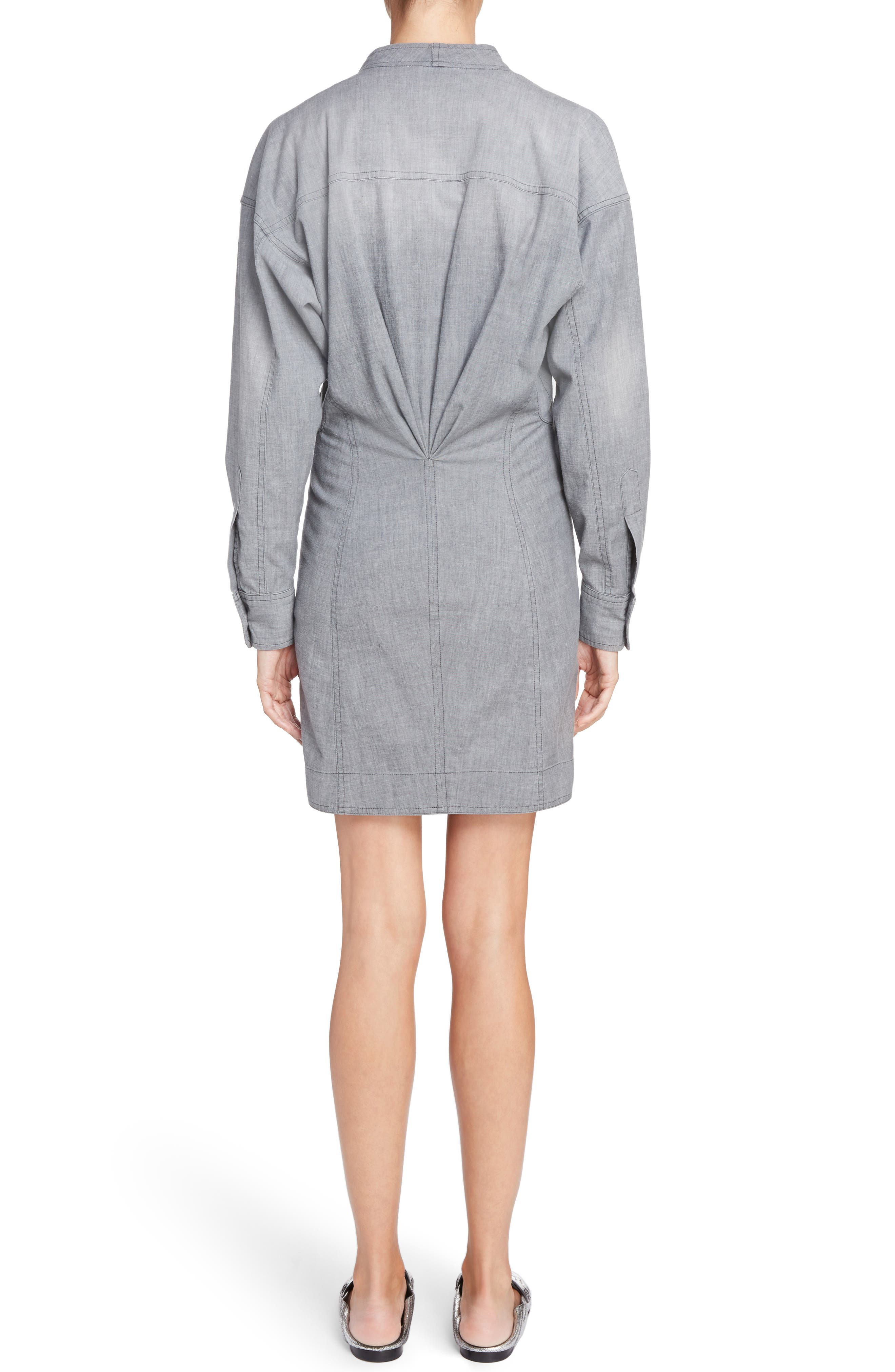 Alternate Image 2  - Isabel Marant Étoile Lindsey Chambray Dress