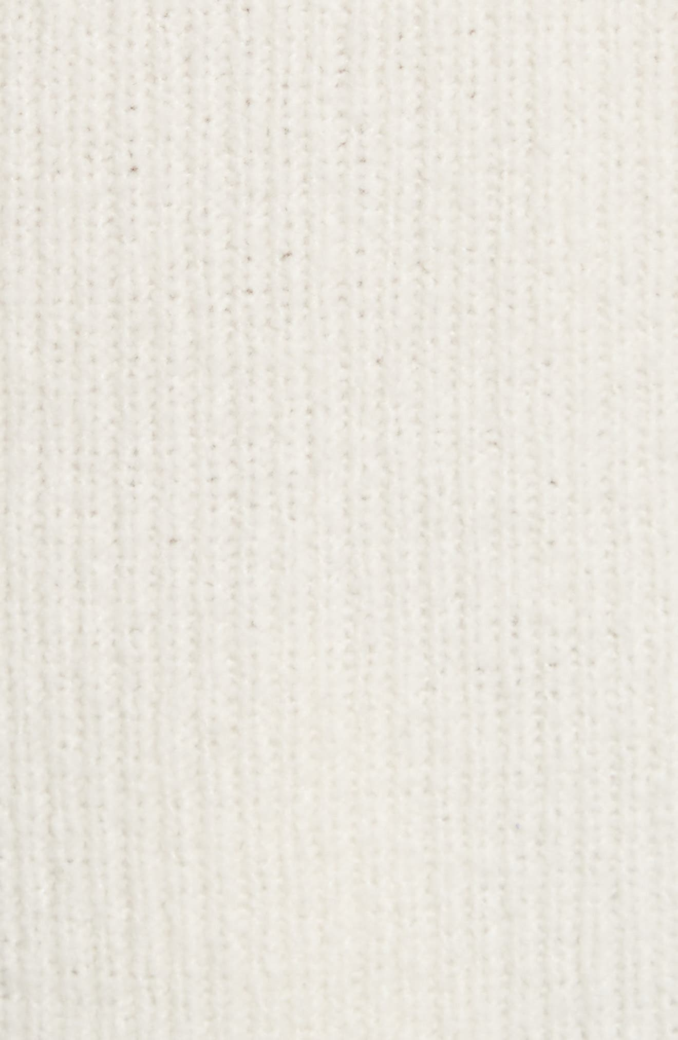 Arlin Wool & Silk Sweater,                             Alternate thumbnail 5, color,                             White