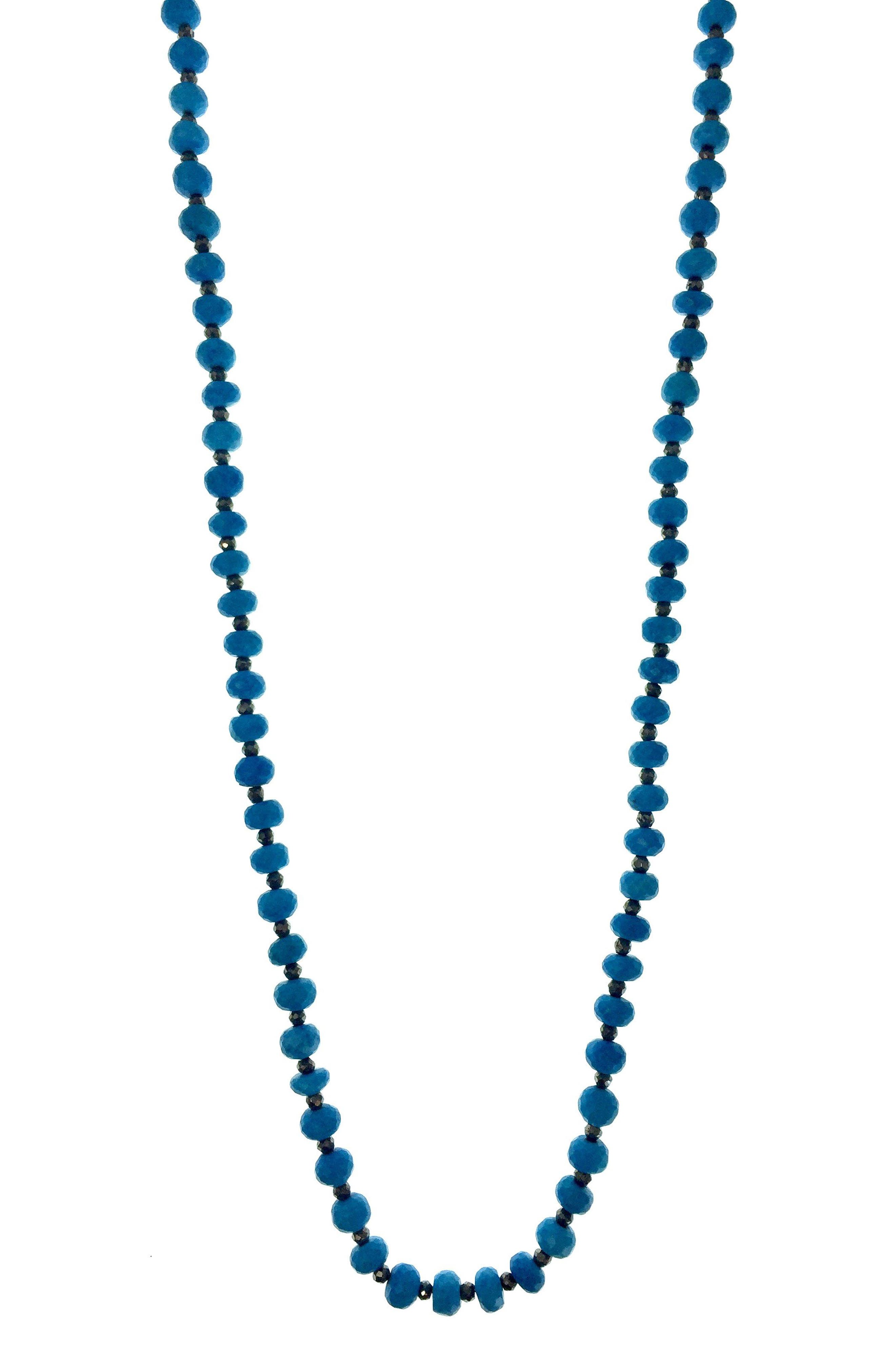 Solana Semiprecious Stone Necklace,                         Main,                         color, Turquoise