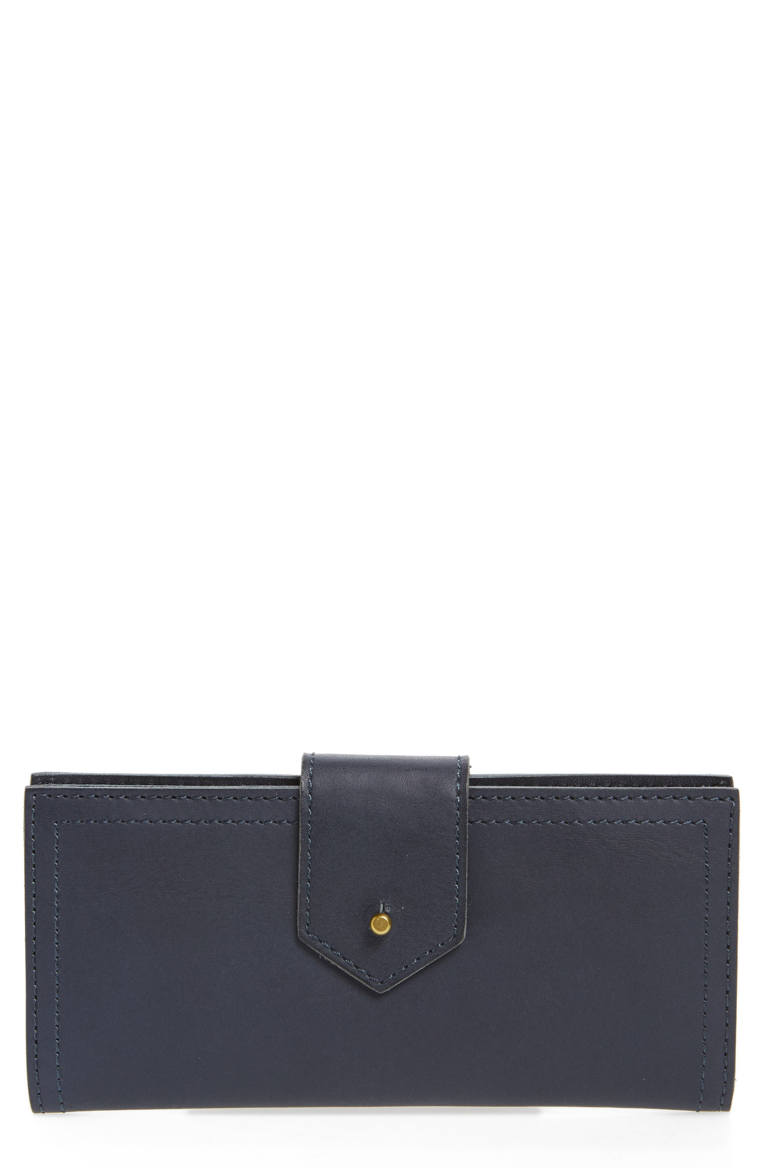 Main Image - Madewell The Post Leather Wallet