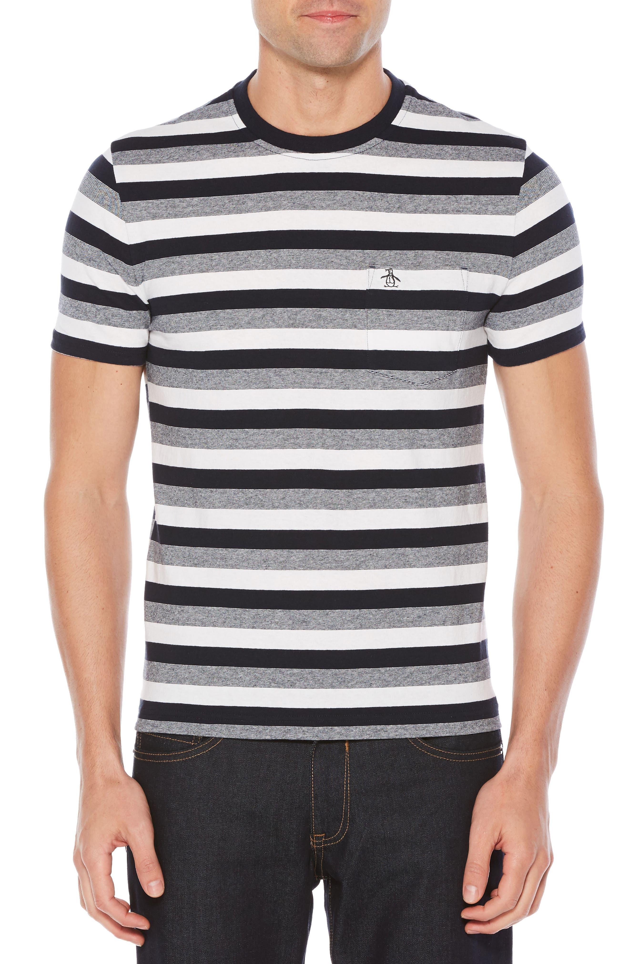 Main Image - Original Penguin Auto Stripe T-Shirt