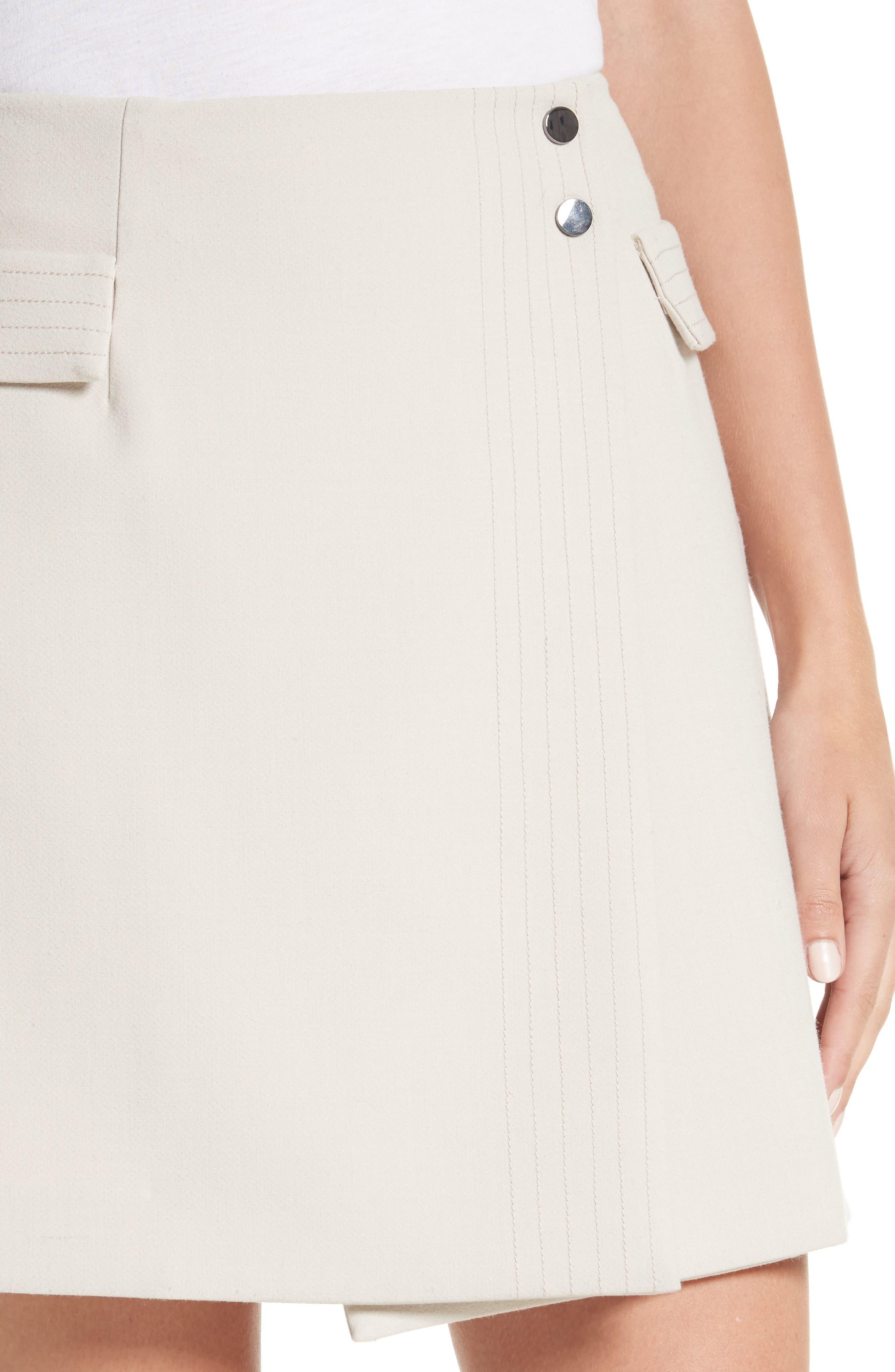 Alternate Image 4  - Armani Jeans Crepe Wrap Skirt