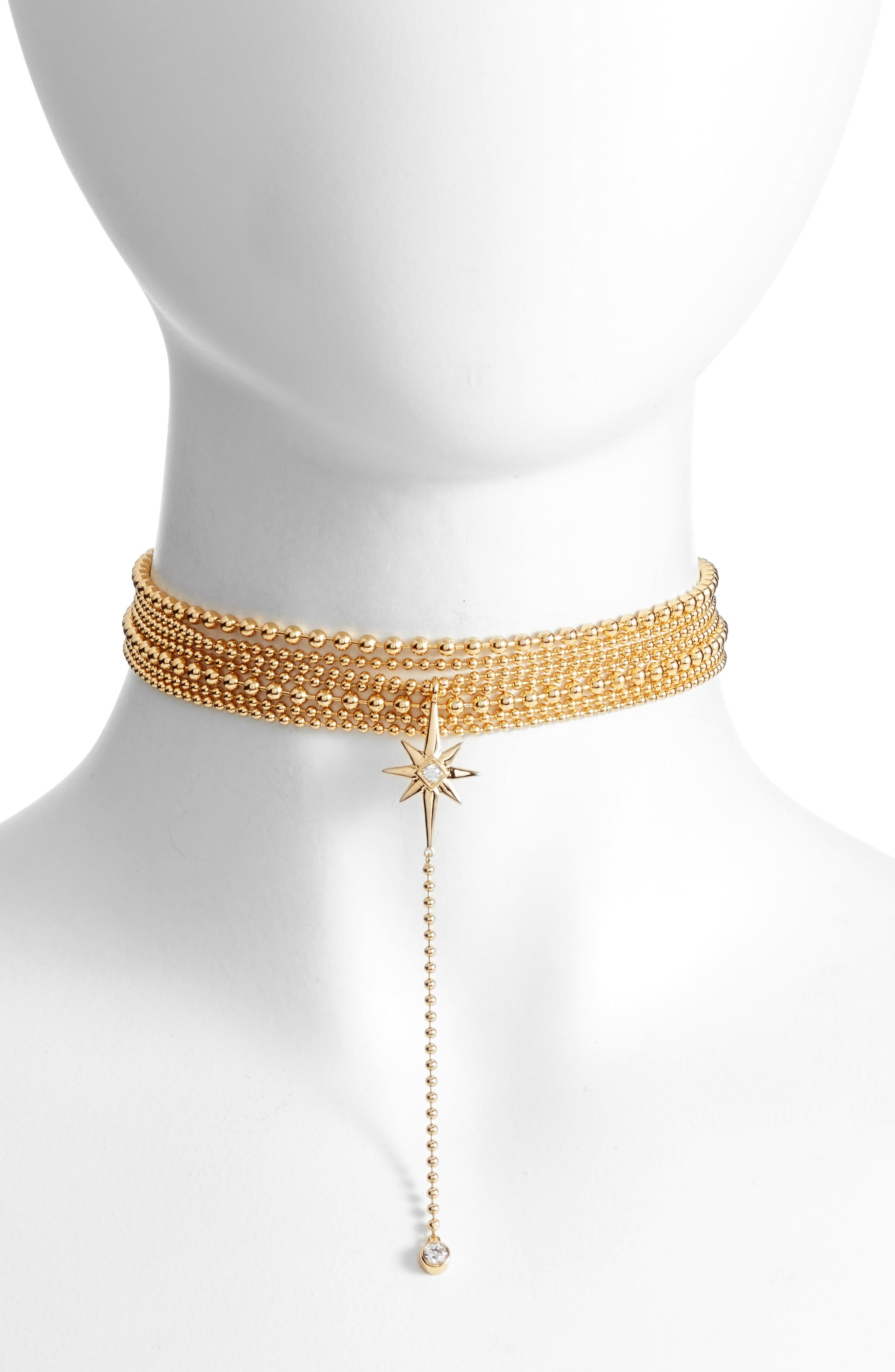 Main Image - Jules Smith Elysian Choker Necklace